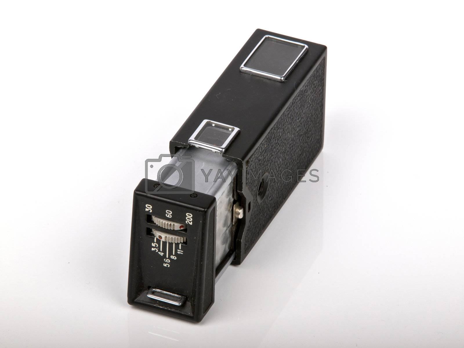 old Kiev retro photo camera made in Russia
