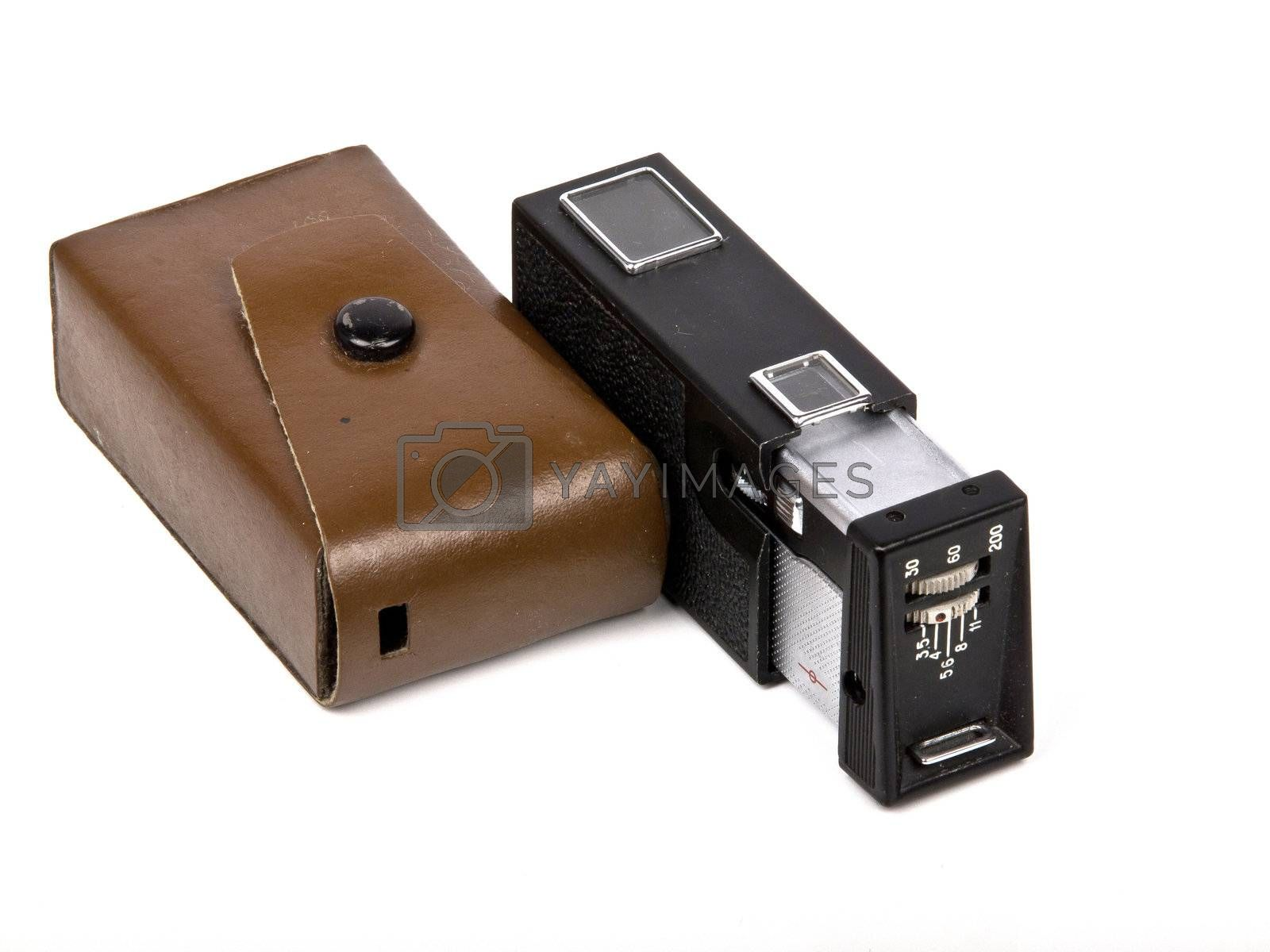 old pocket photo camera made in Russia