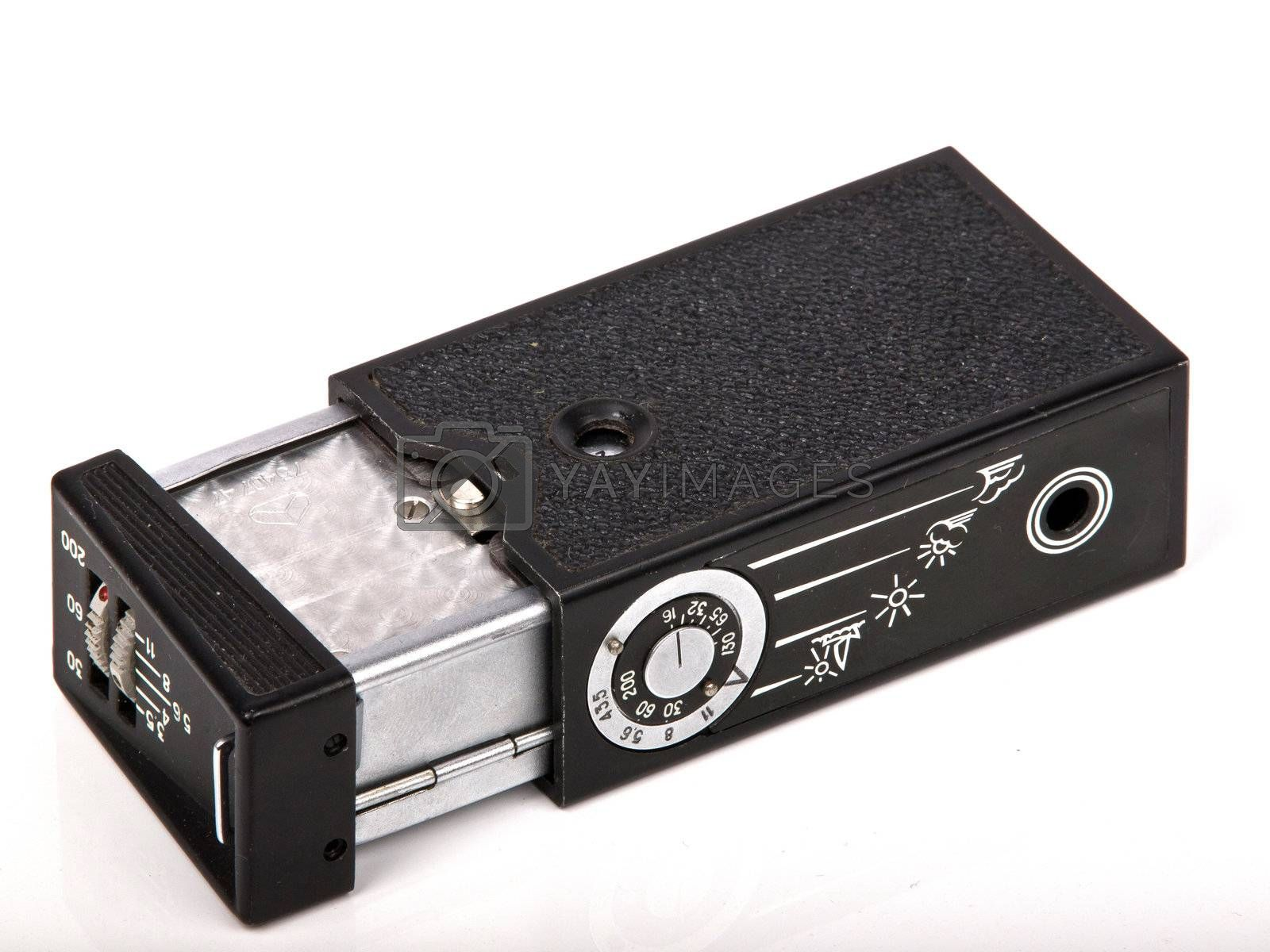 old Kiev pocket photo camera made in Russia