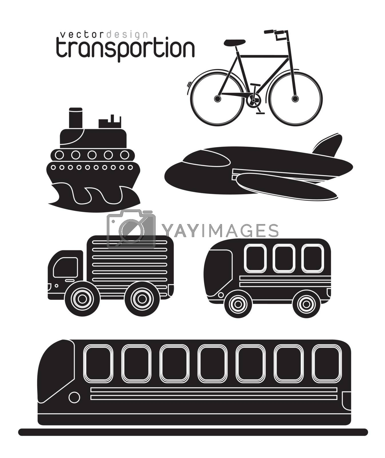 different means of transport in the world