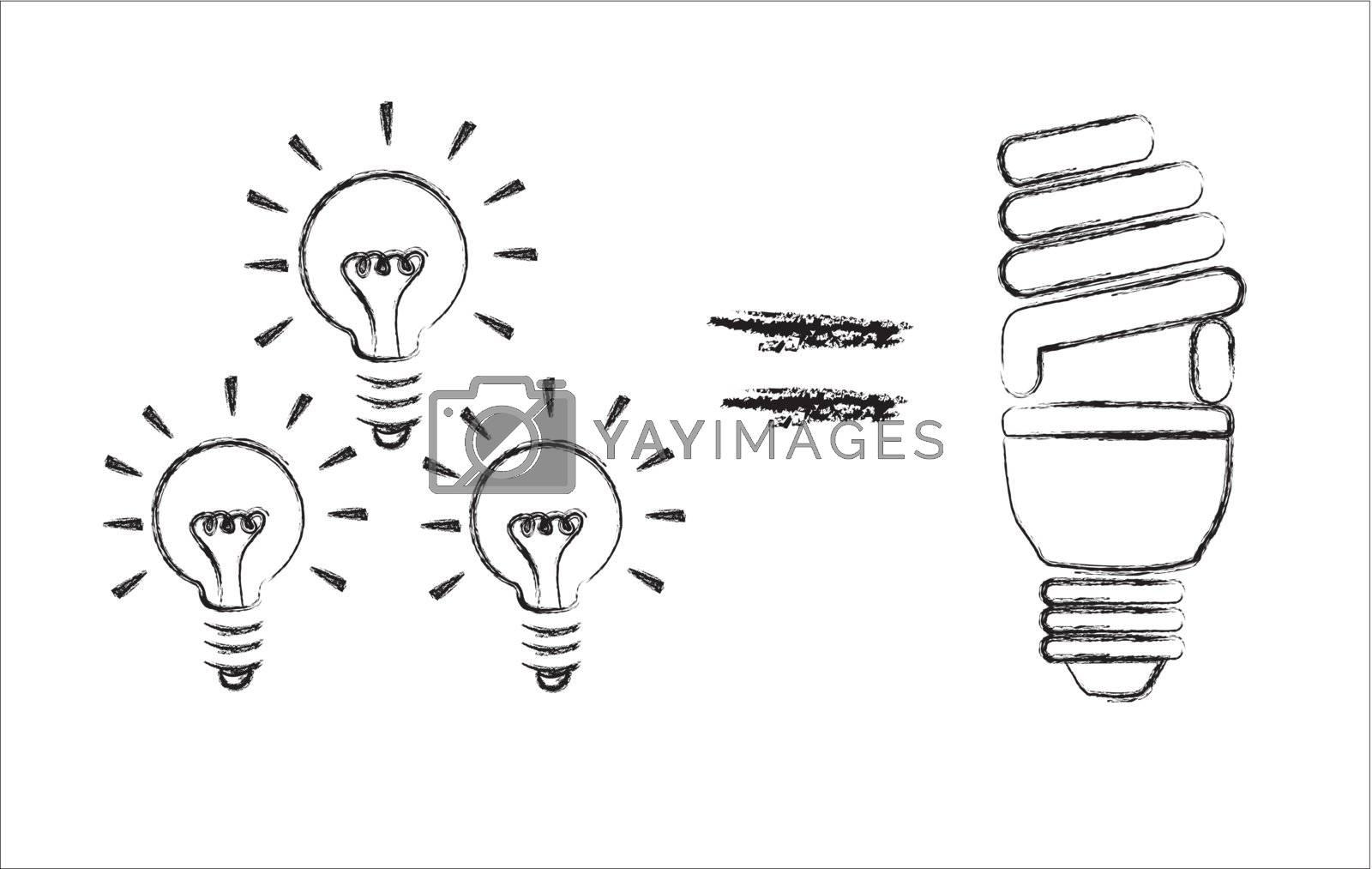 calculation of savings among older bulbs and ecological