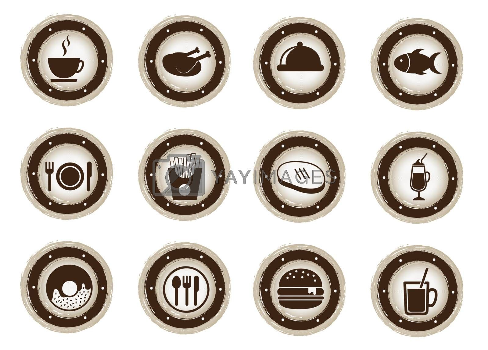 menu icons by yupiramos