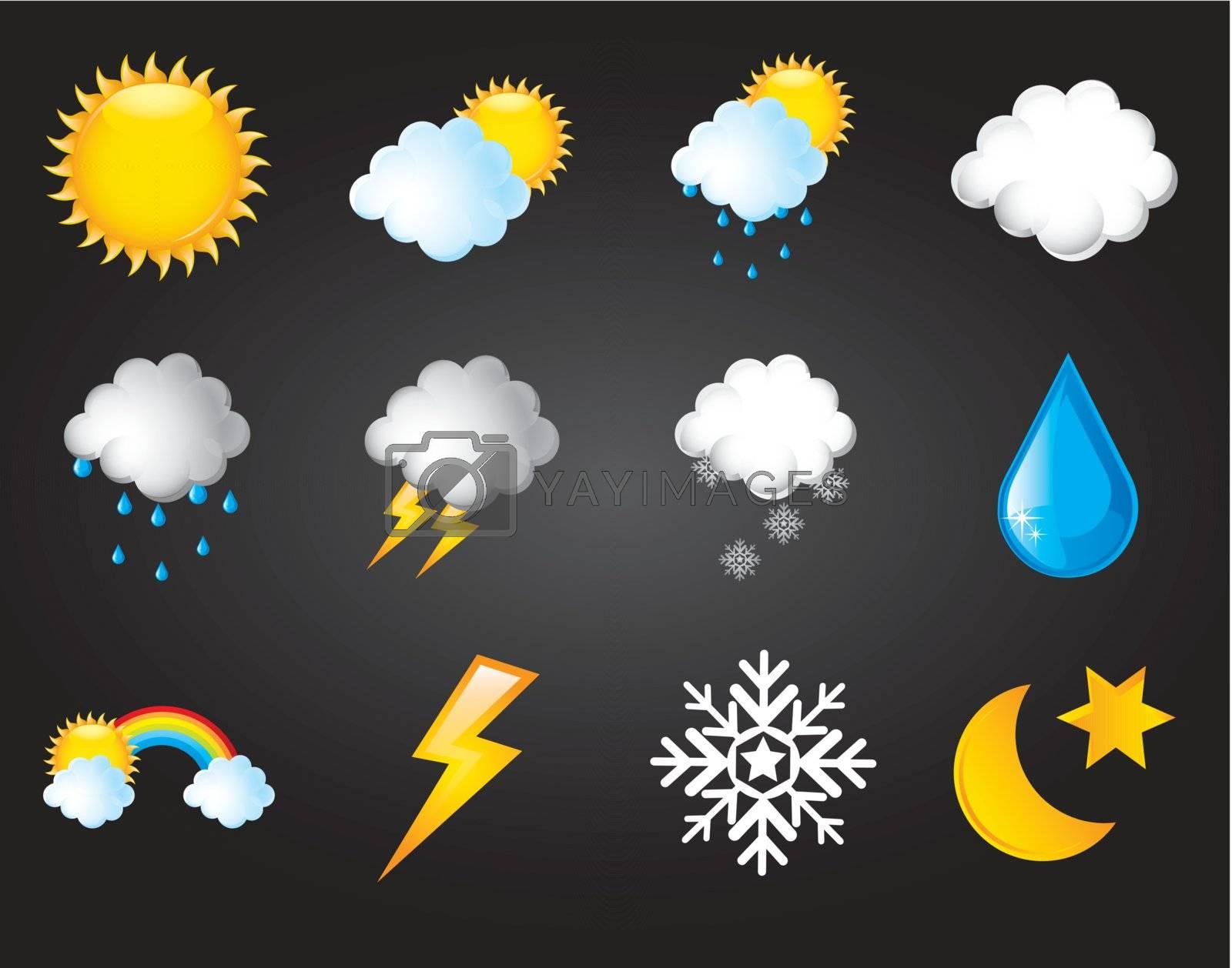symbols climatic by yupiramos