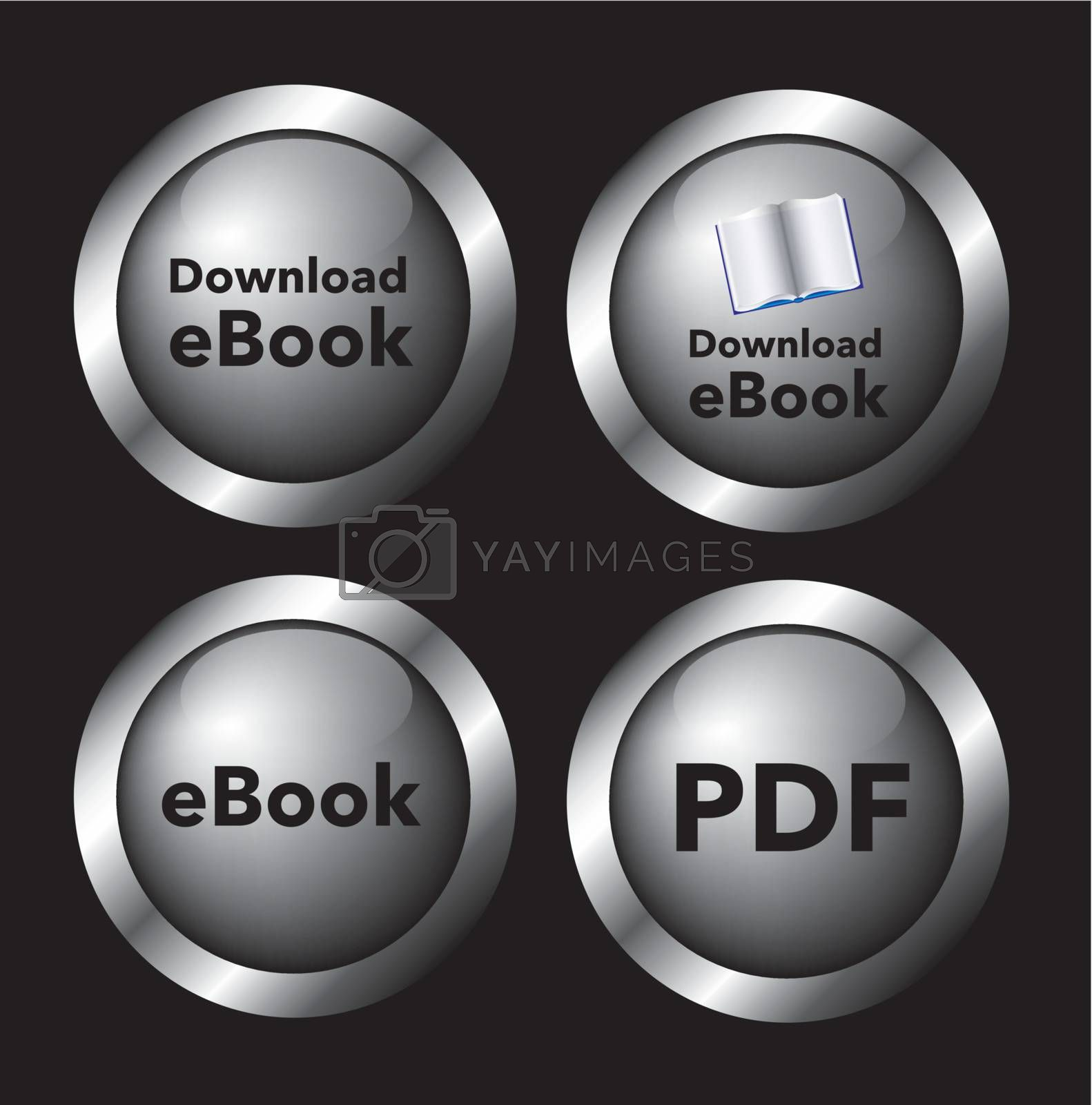 download buttons by yupiramos