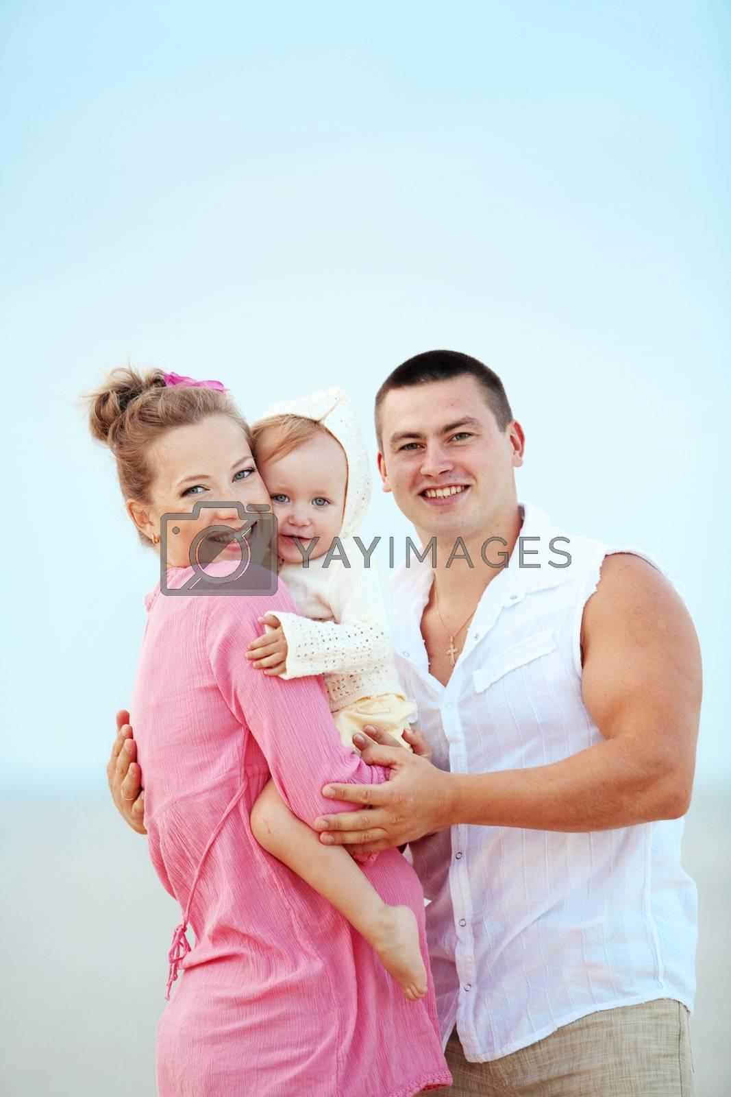 Happy family by alenkasm