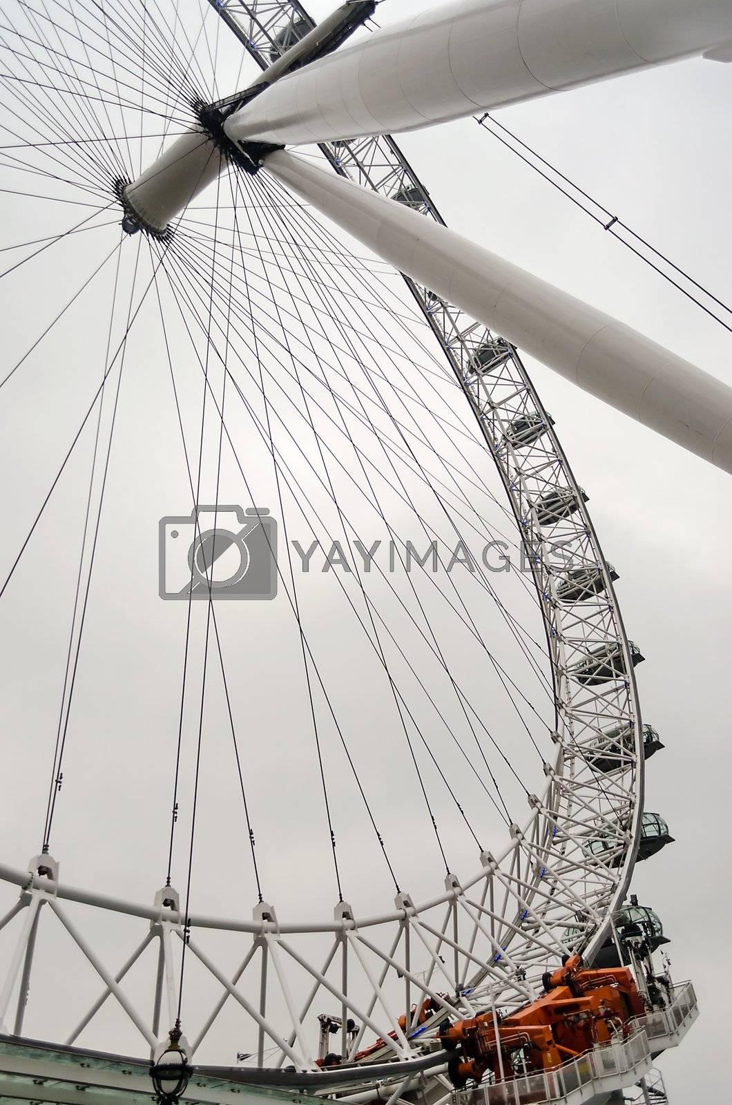 The London Eye Panoramic Wheel