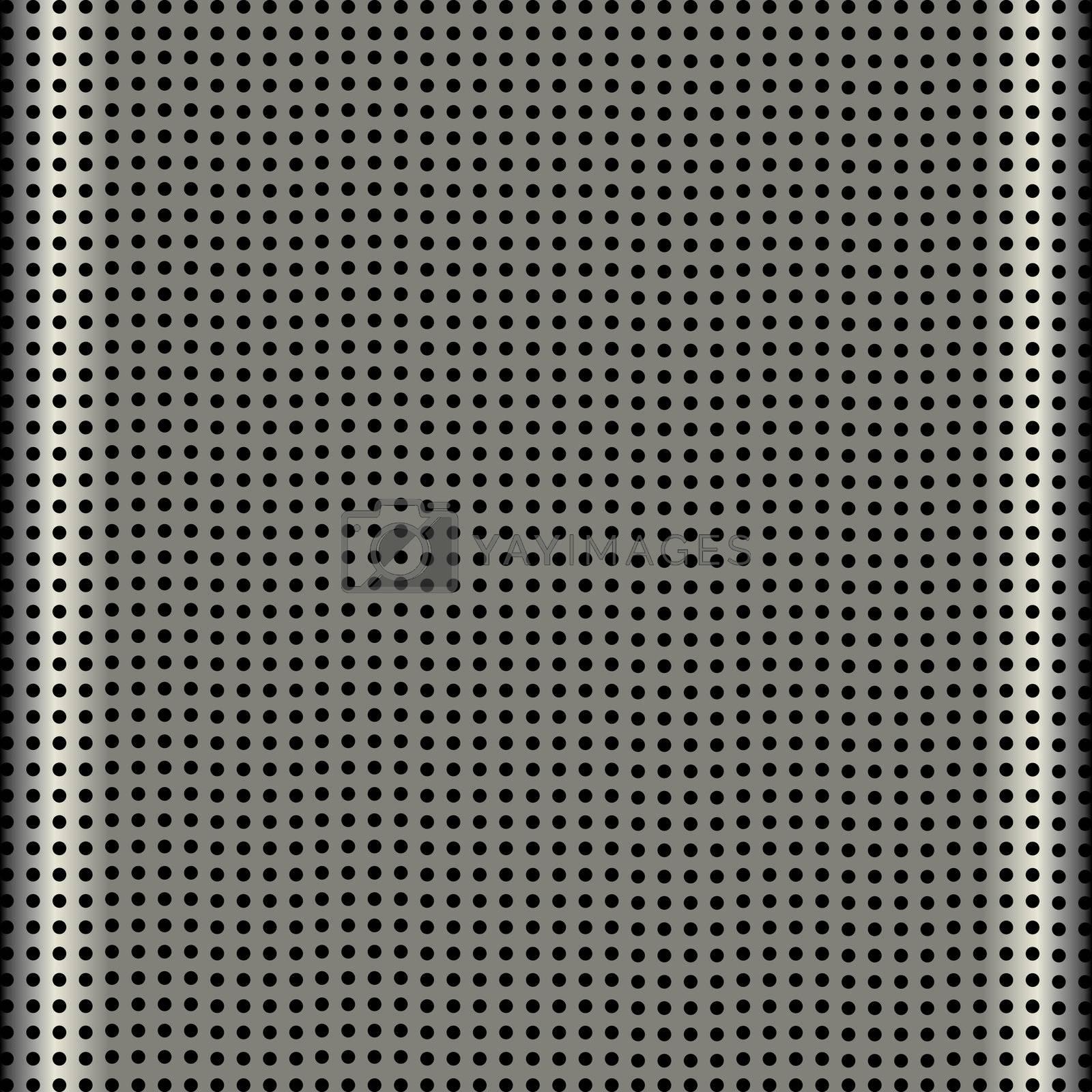 fine aluminum modern speaker grill texture