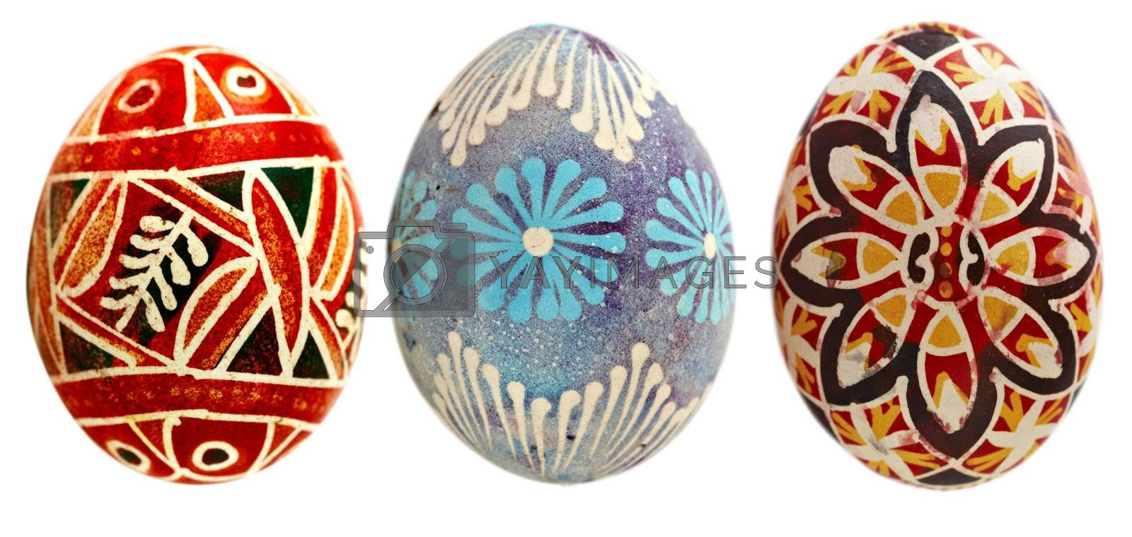 Detail of the Easter egg - Easter decoration