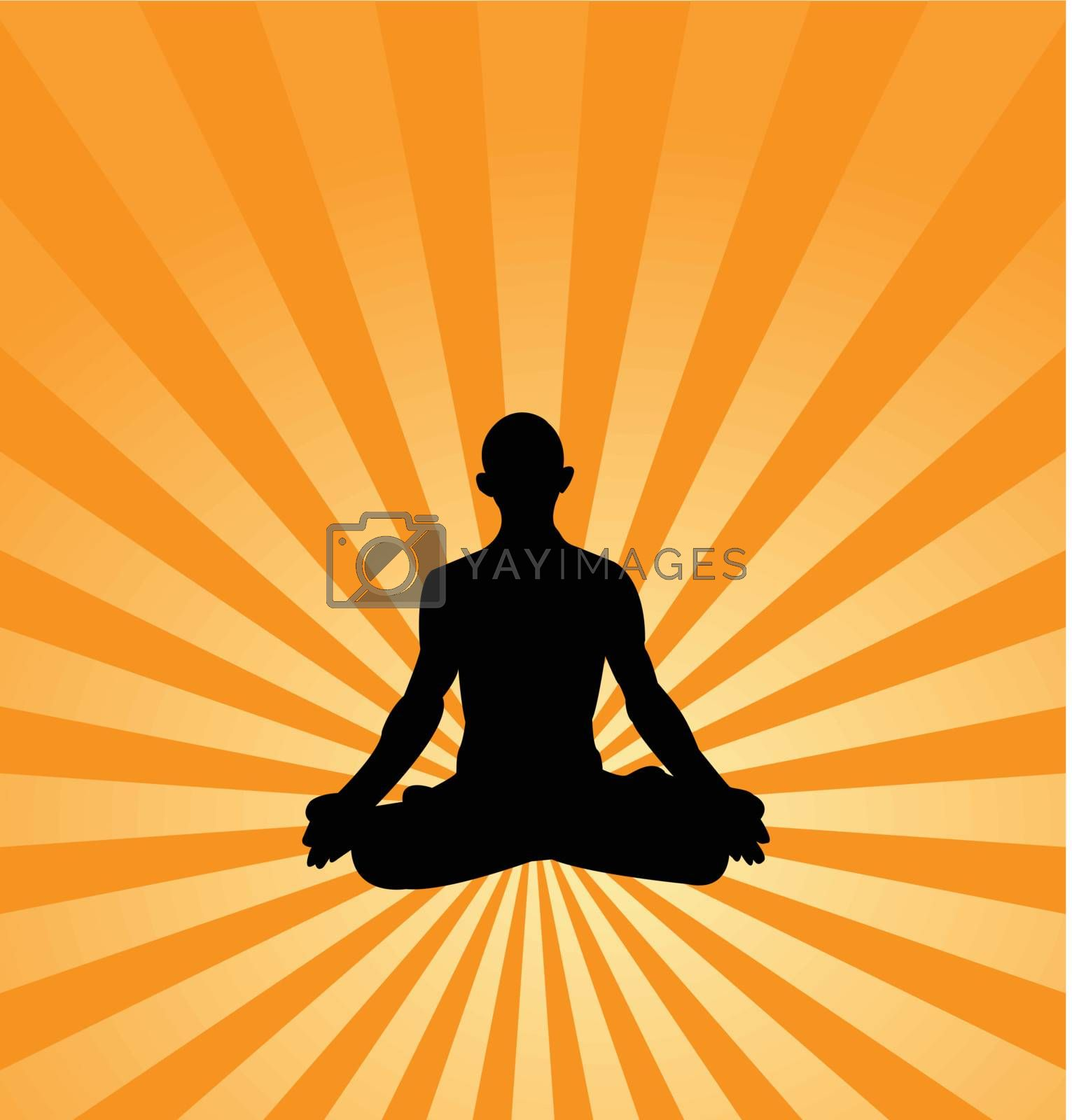 yoga background illustrations, in eps10 format to preserve the edit ability of the background.