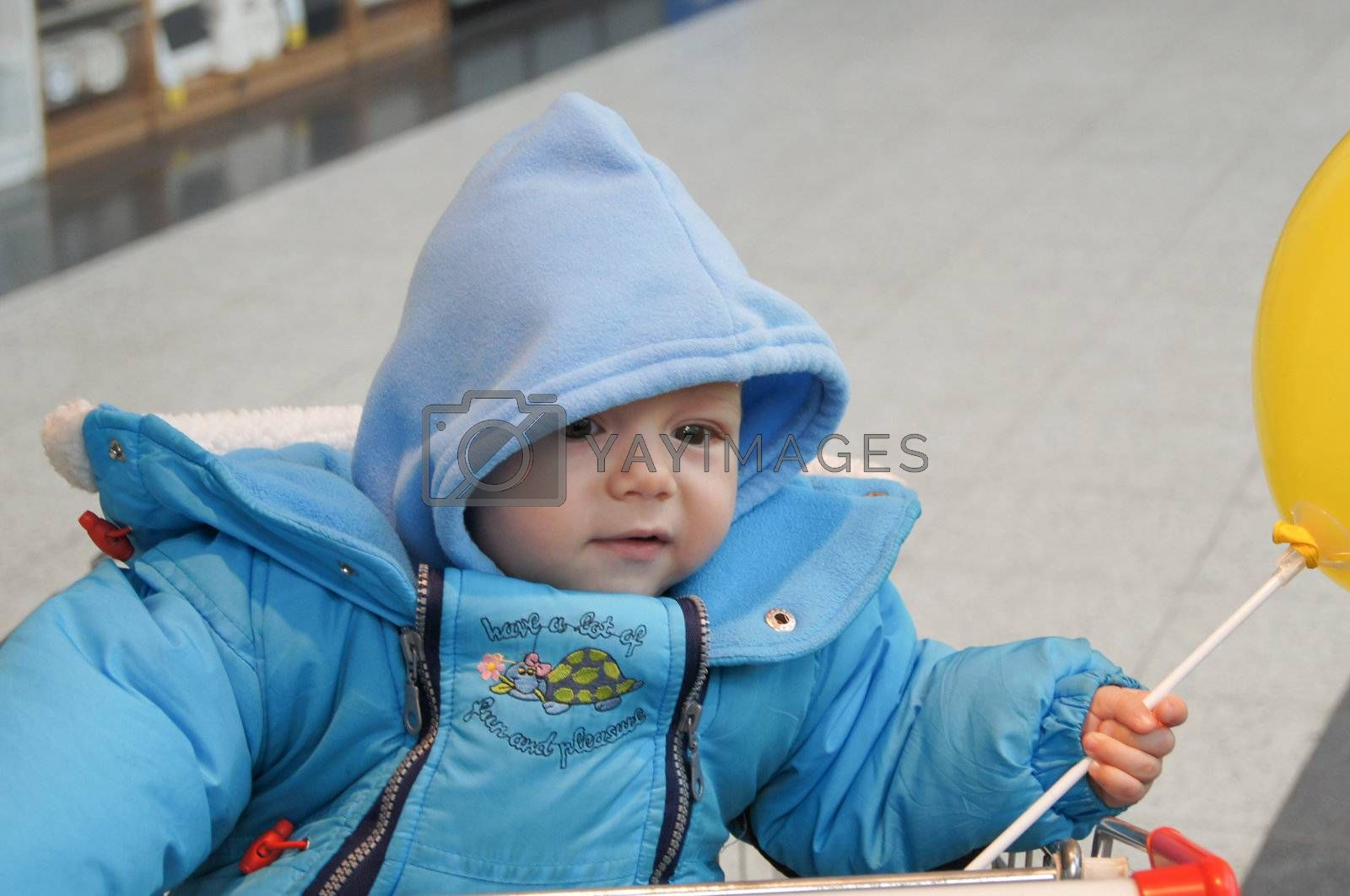 A funny little boy by Viktoha