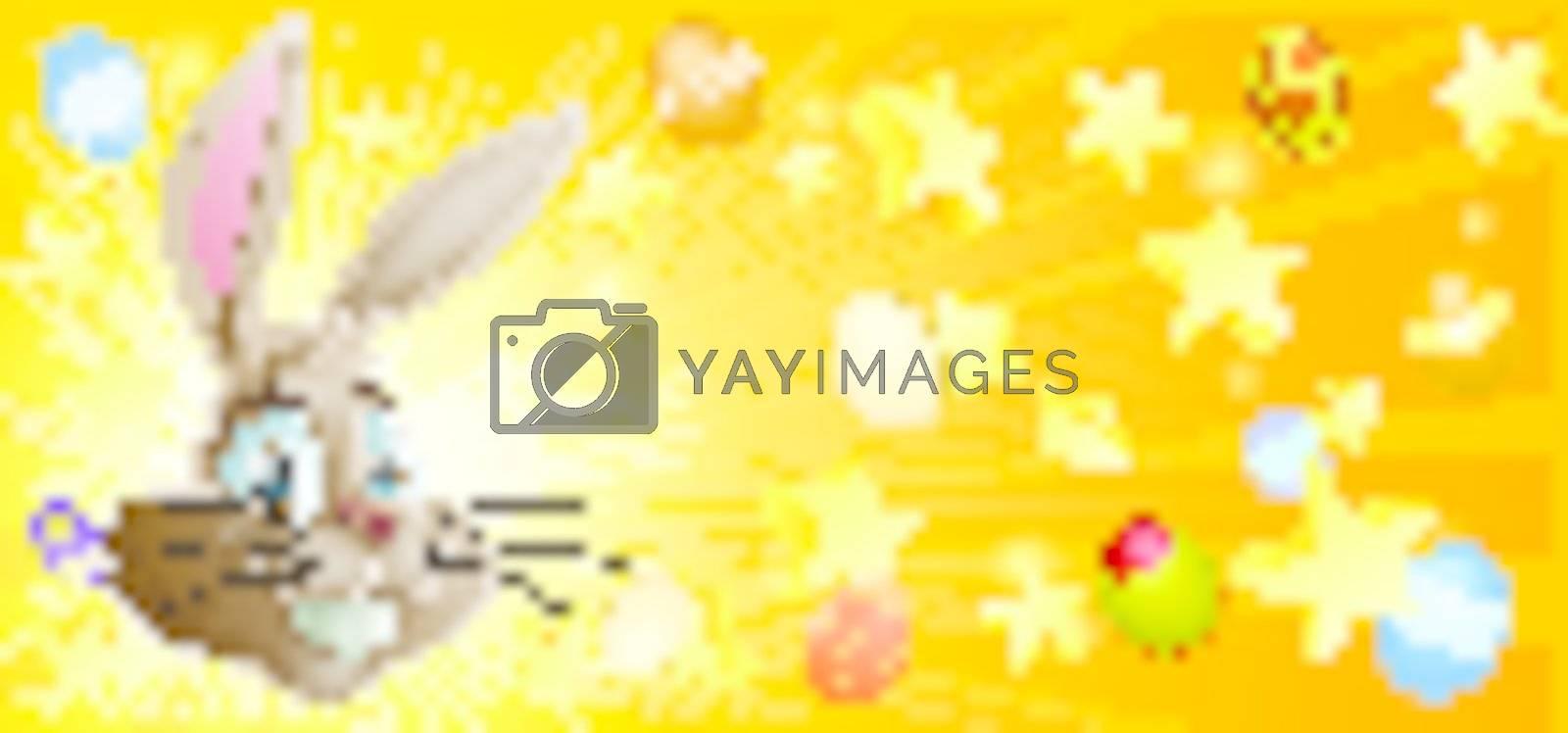 Easter background by Krisdog