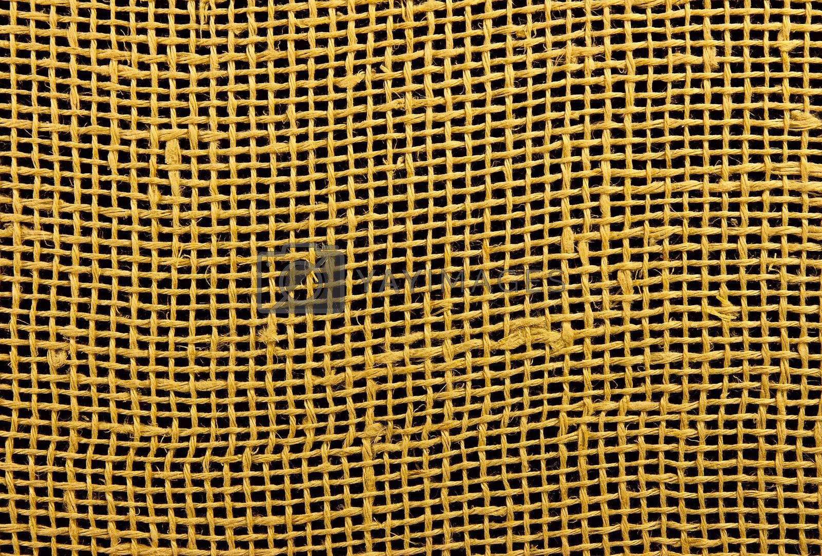 Royalty free image of Texture fabric linen mesh by True