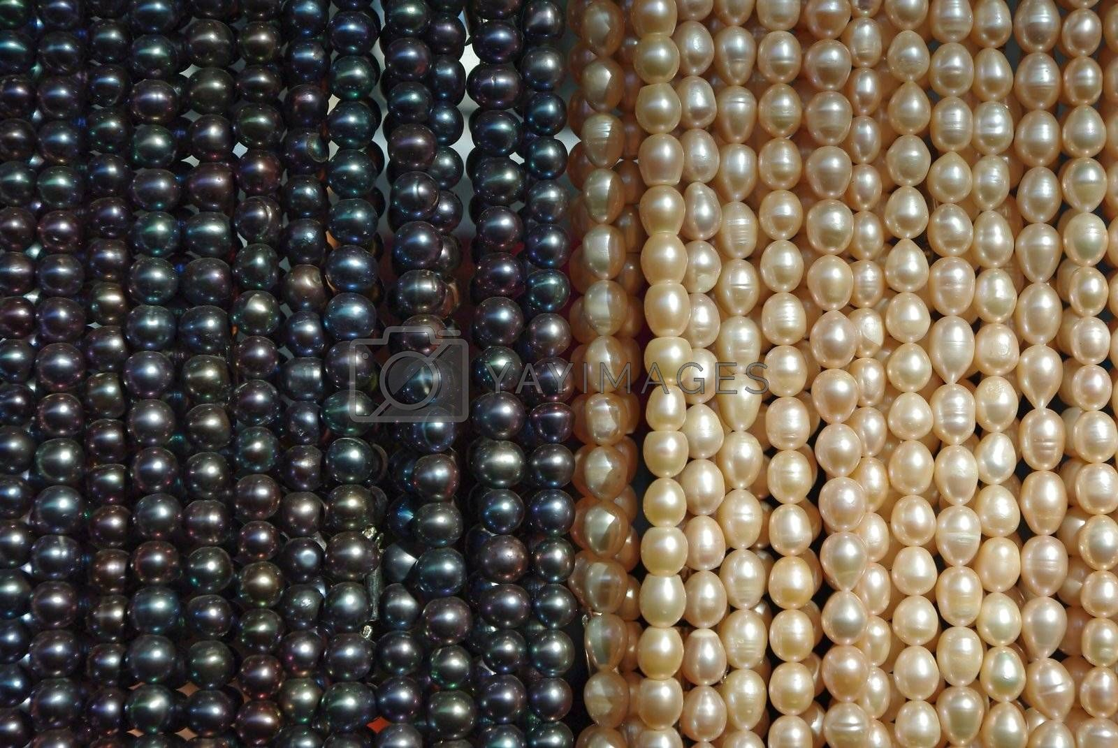 Texture from the different kind of pearl