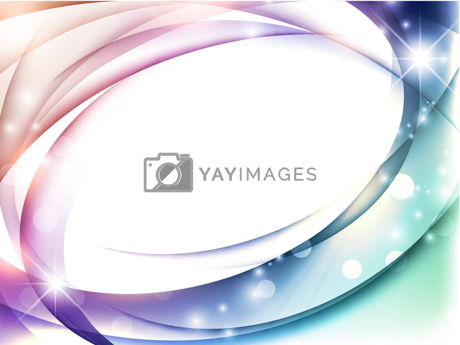 Magic abstract multicolored background with copy space for your text