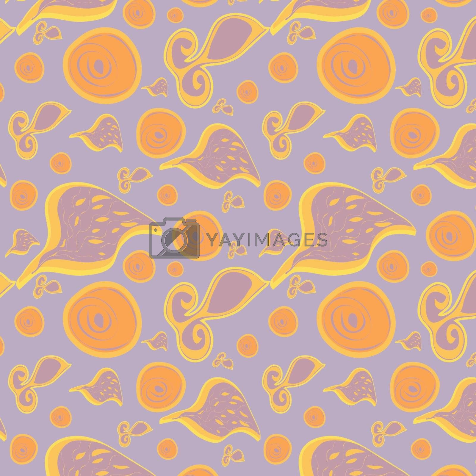 Abstract seamless background, vector, illustration