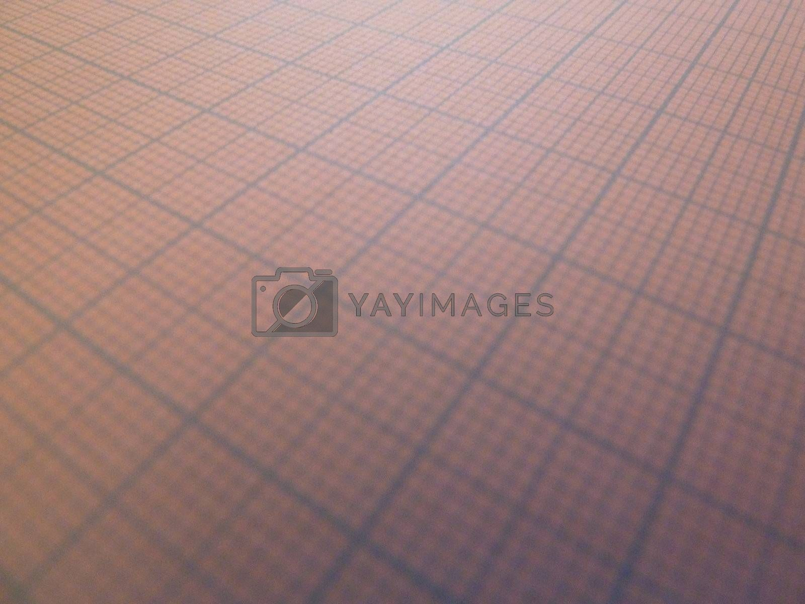 blank graph paper at a angle