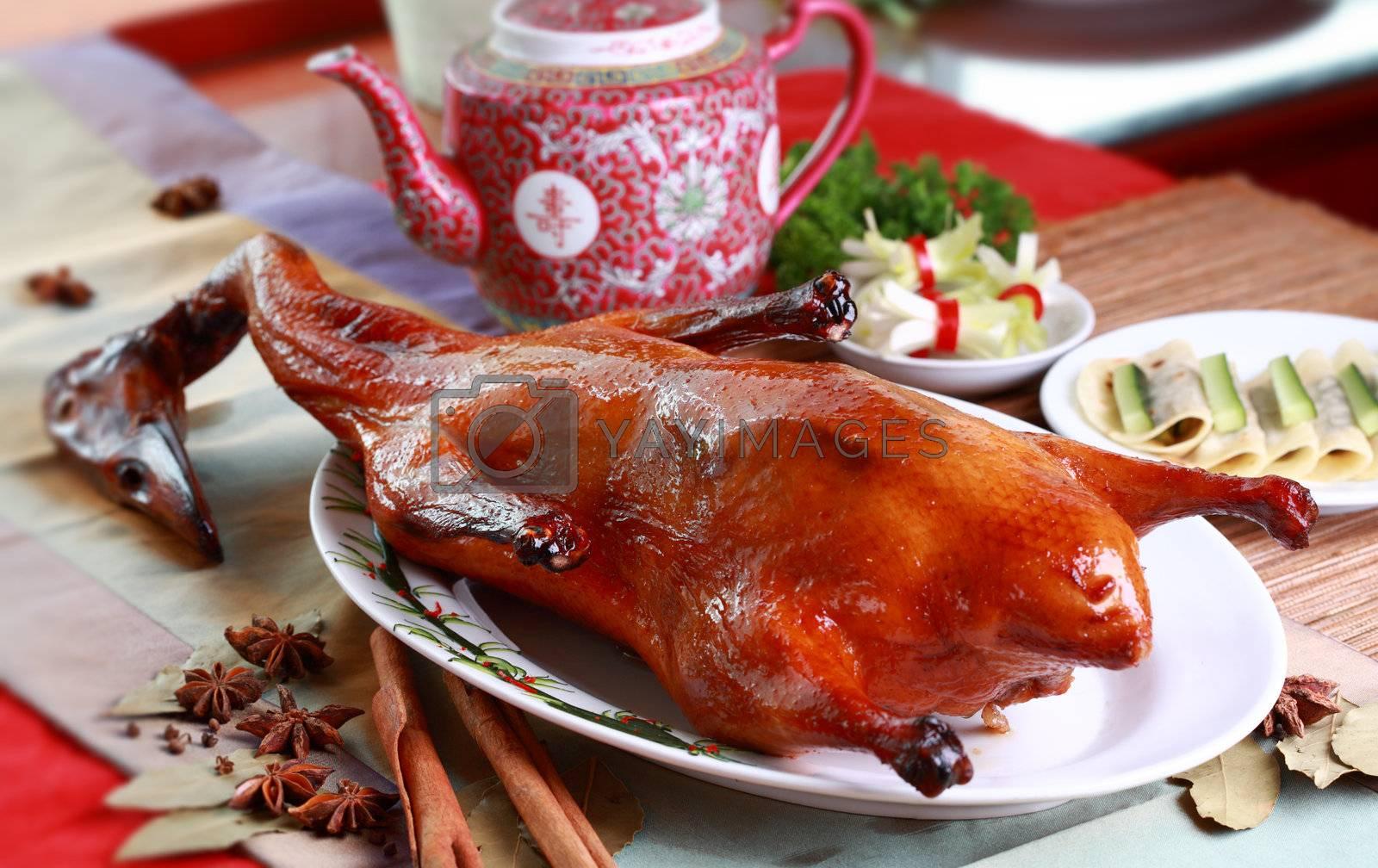 Peking Duck, China's most famous dish