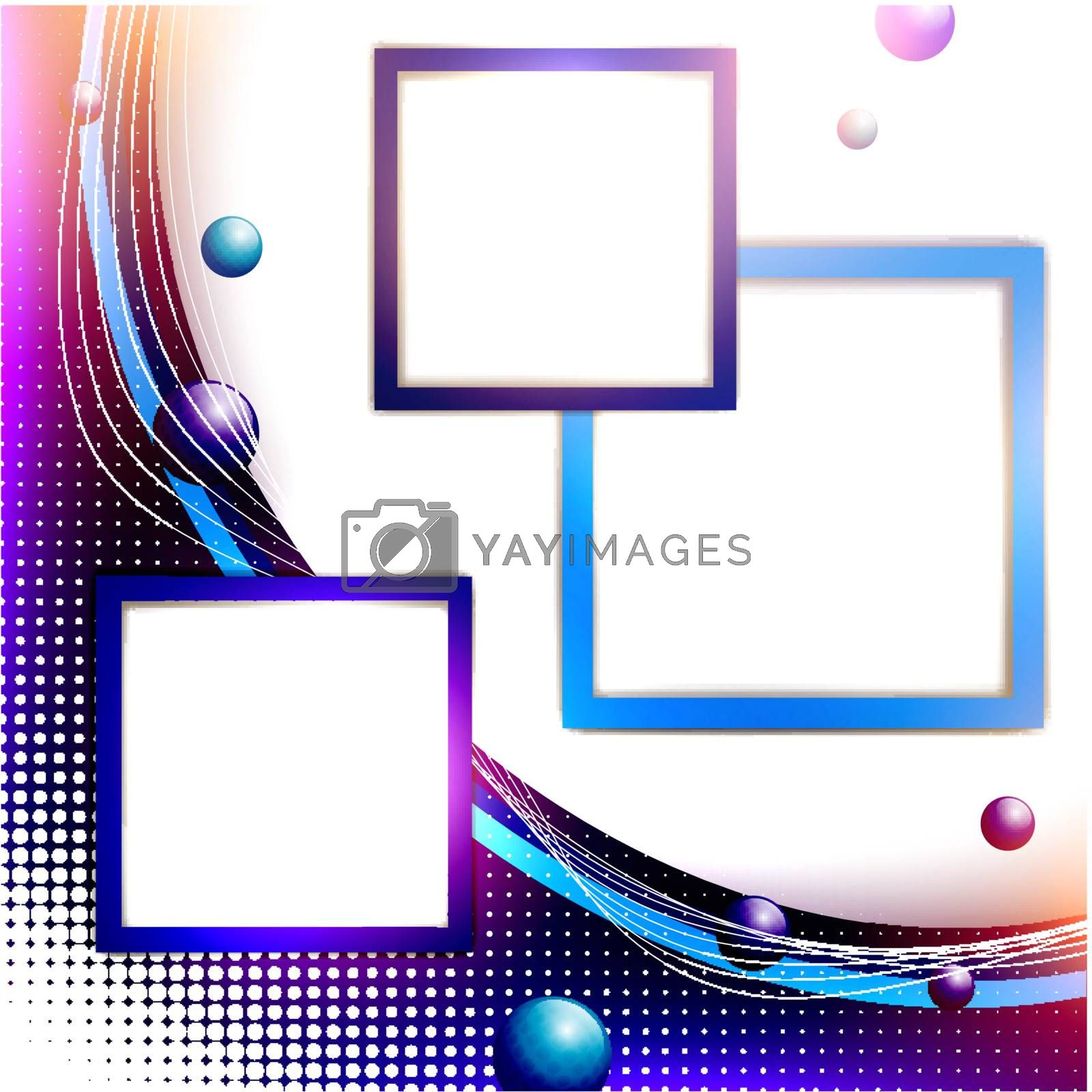 Abstract frame background, copyspace for your text