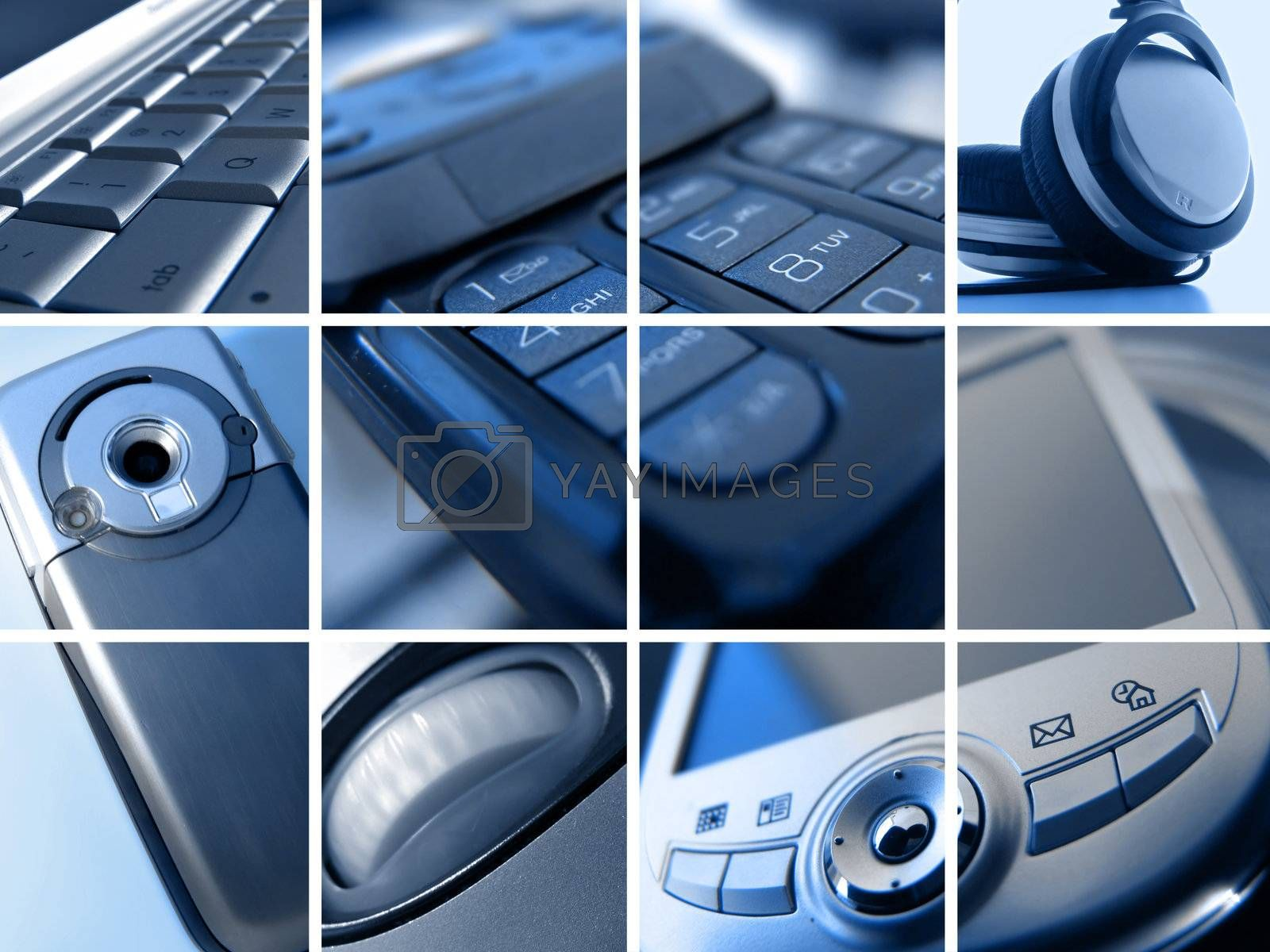Royalty free image of Technology Montage by kwest