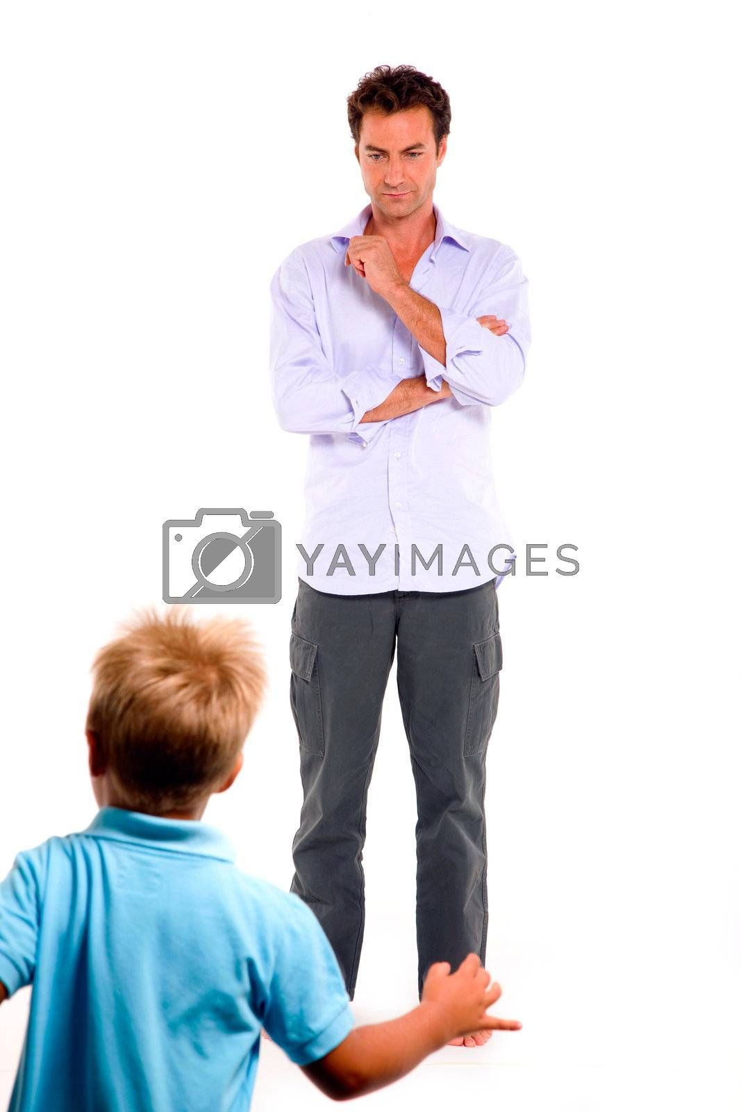 father and son by ambro