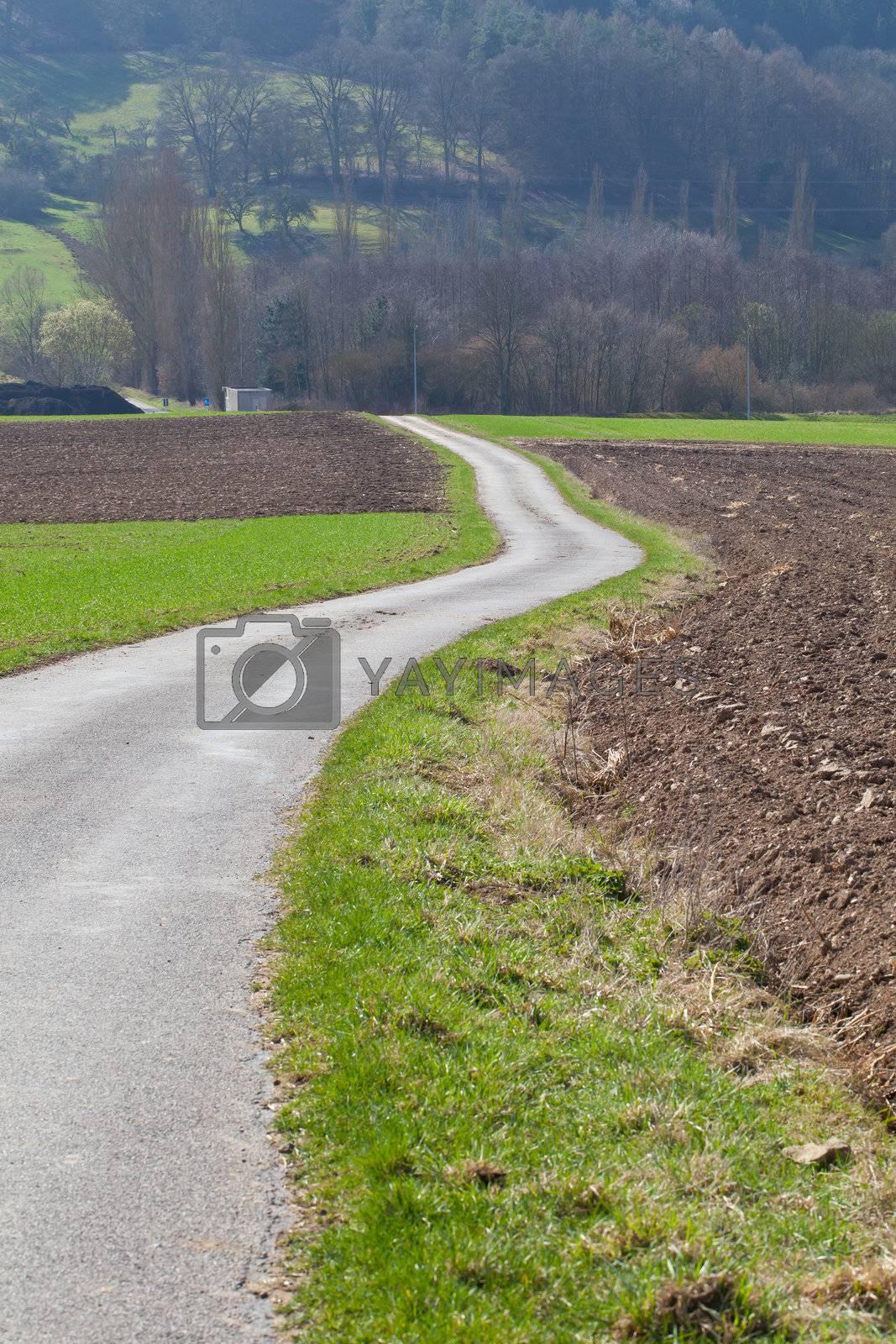 Countryside landscape by sabinoparente