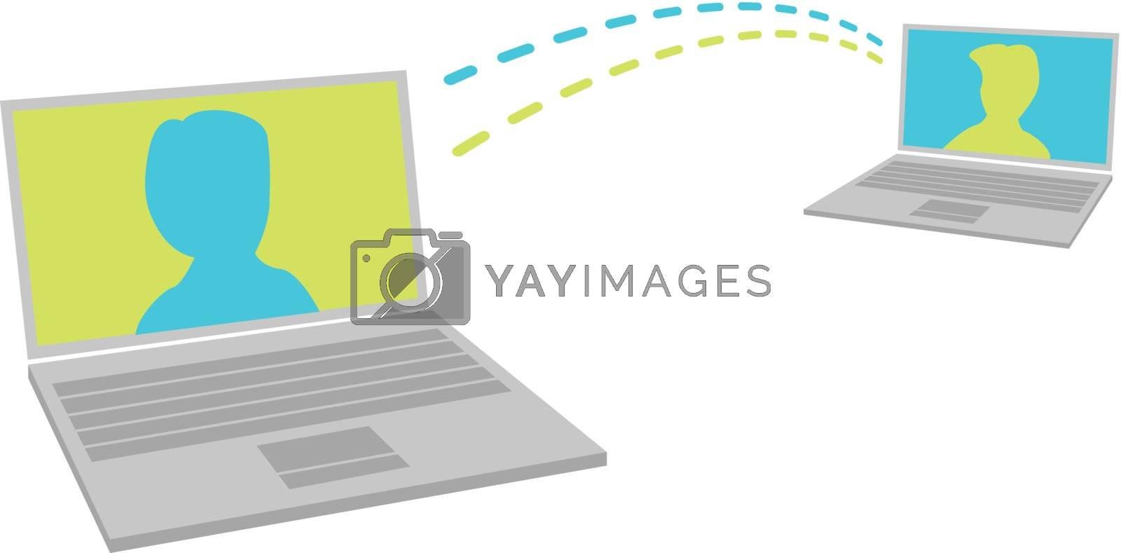 Laptop communication
