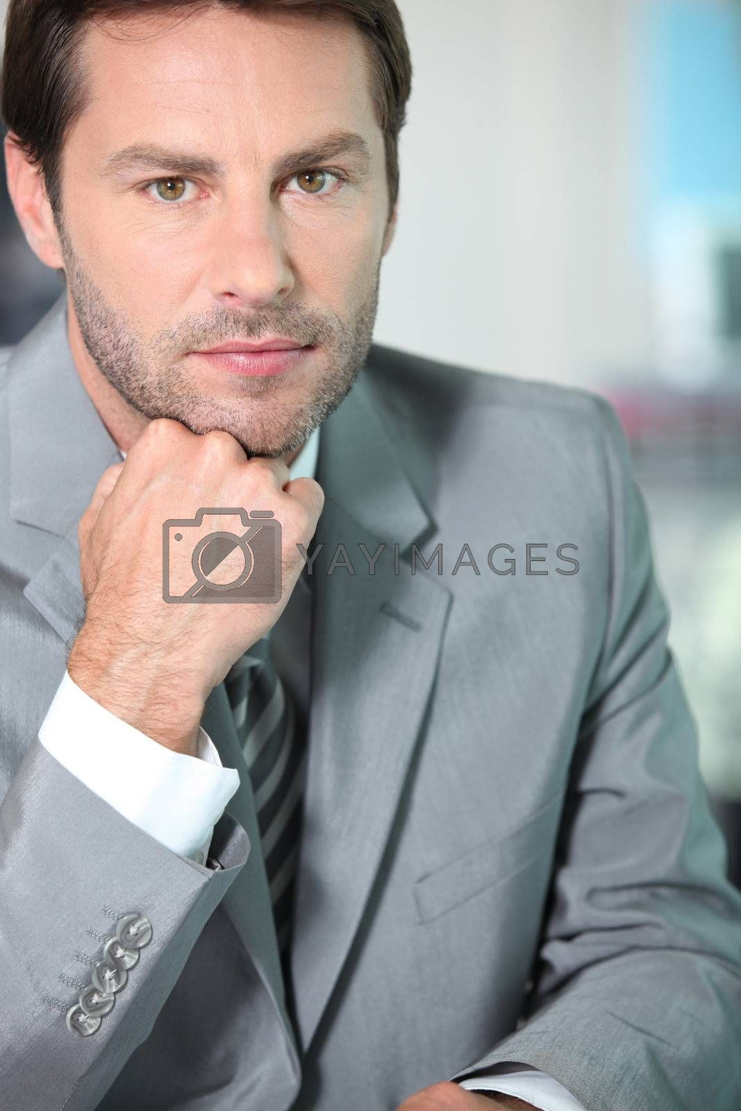 Portrait of a financial consultant