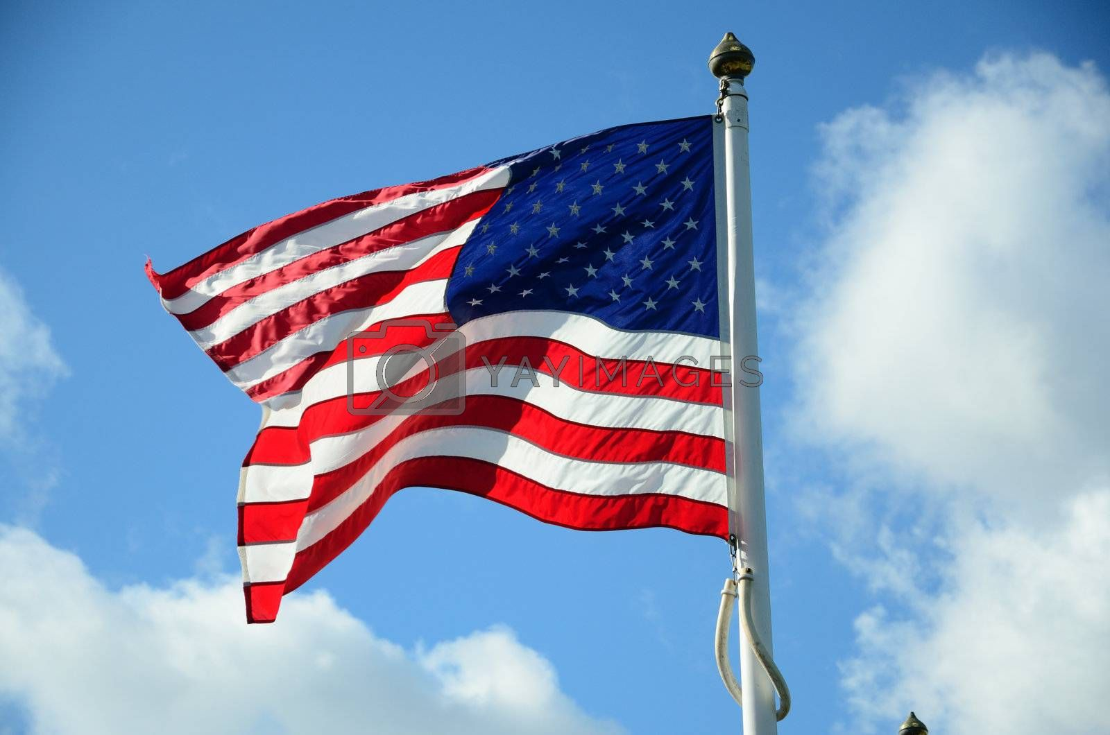 A  Image ID: 61933045   Release  information: N/A   Copyright: kropic1   Keywords: 4th, america, american, background, banner, blue, country, culture, day, democracy, democratic, flag, flying, fourth, freedom, glory, holiday, independence, july, liberty, memorial, nation, national, nationalism, old, party, patriot, patriotic, patriotism, pole, pride, red, shape, single, sky, spangled, star, states, stripes, symbol, symbolic, united, us, usa, wave, white, wind Similar Images Preview   american flag flapping with...   american flag blows in the wind ...   waving american flag against a...   american flag. image of...   american flag on blue sky...   fireworks against the backdrop...   american flag blowing in wind   american flag against blue sky. ...