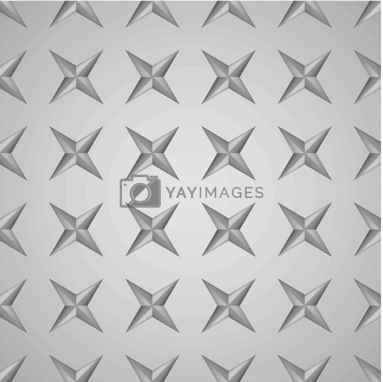 Metal Texture Number Three. Seamless Pattern. Illustration for design