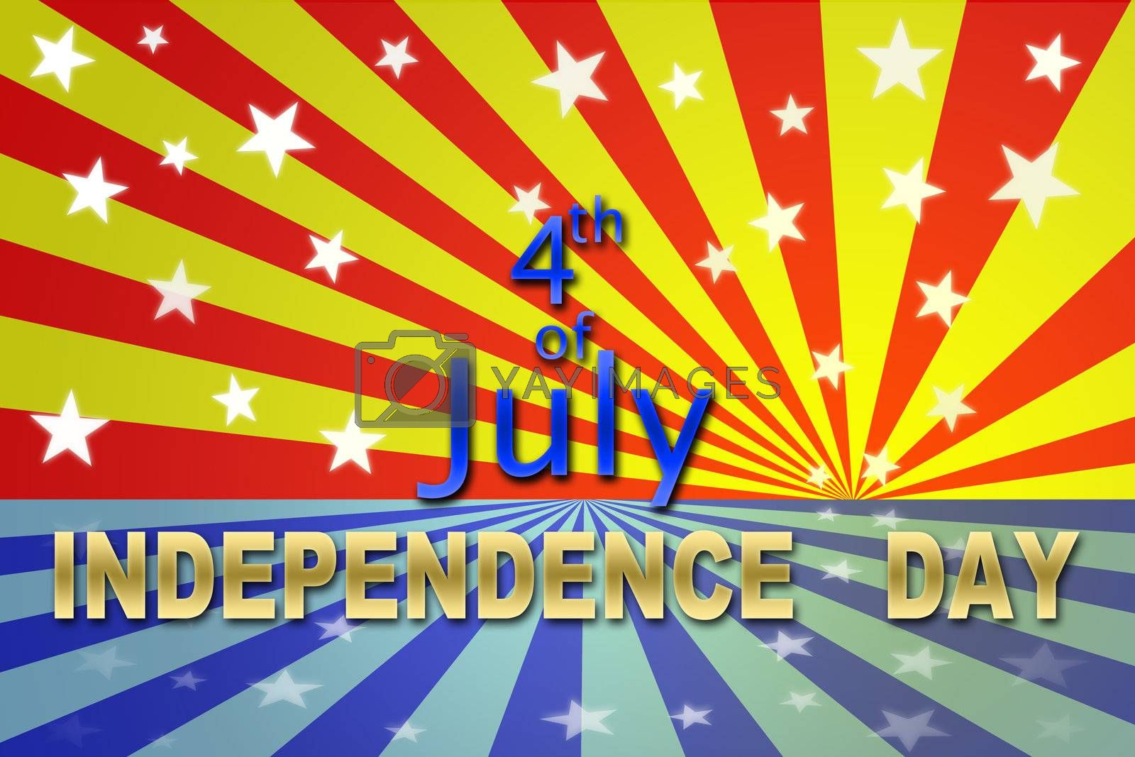 USA Independence day 4 July for Holiday Background