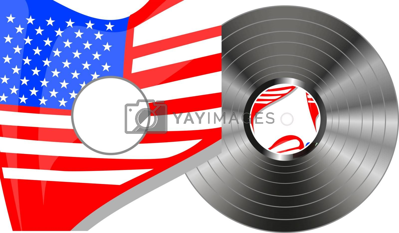 vinyl bubbles in usa flag cover