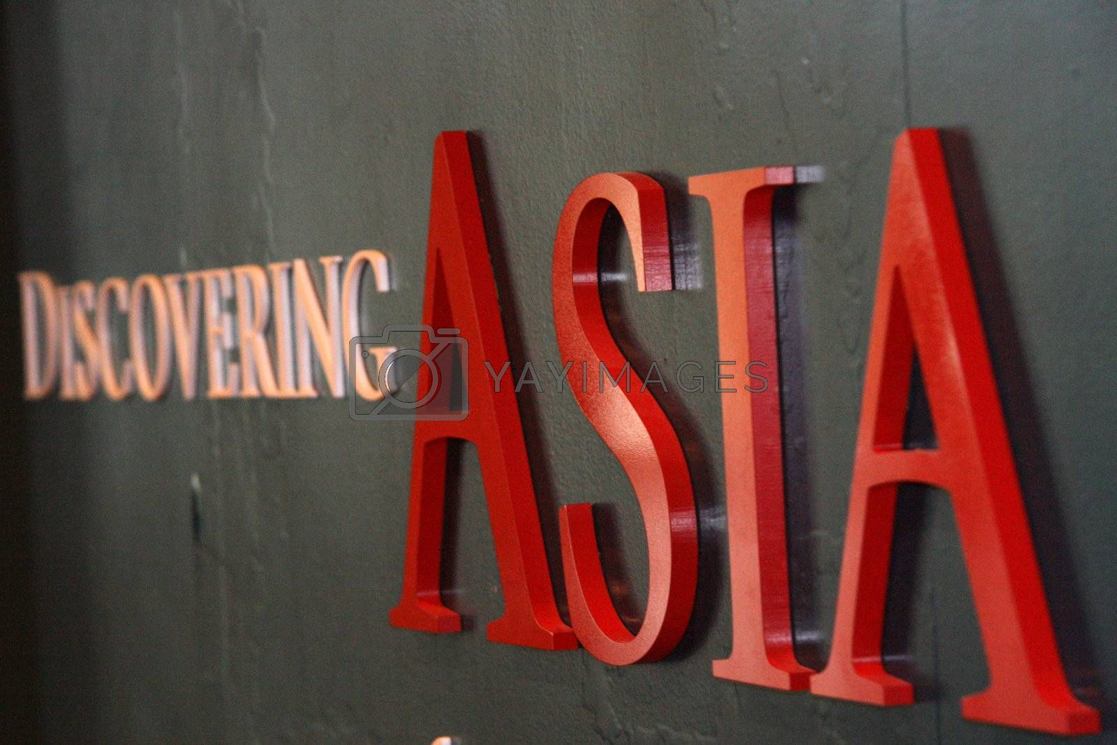 Discovering Asia Sign