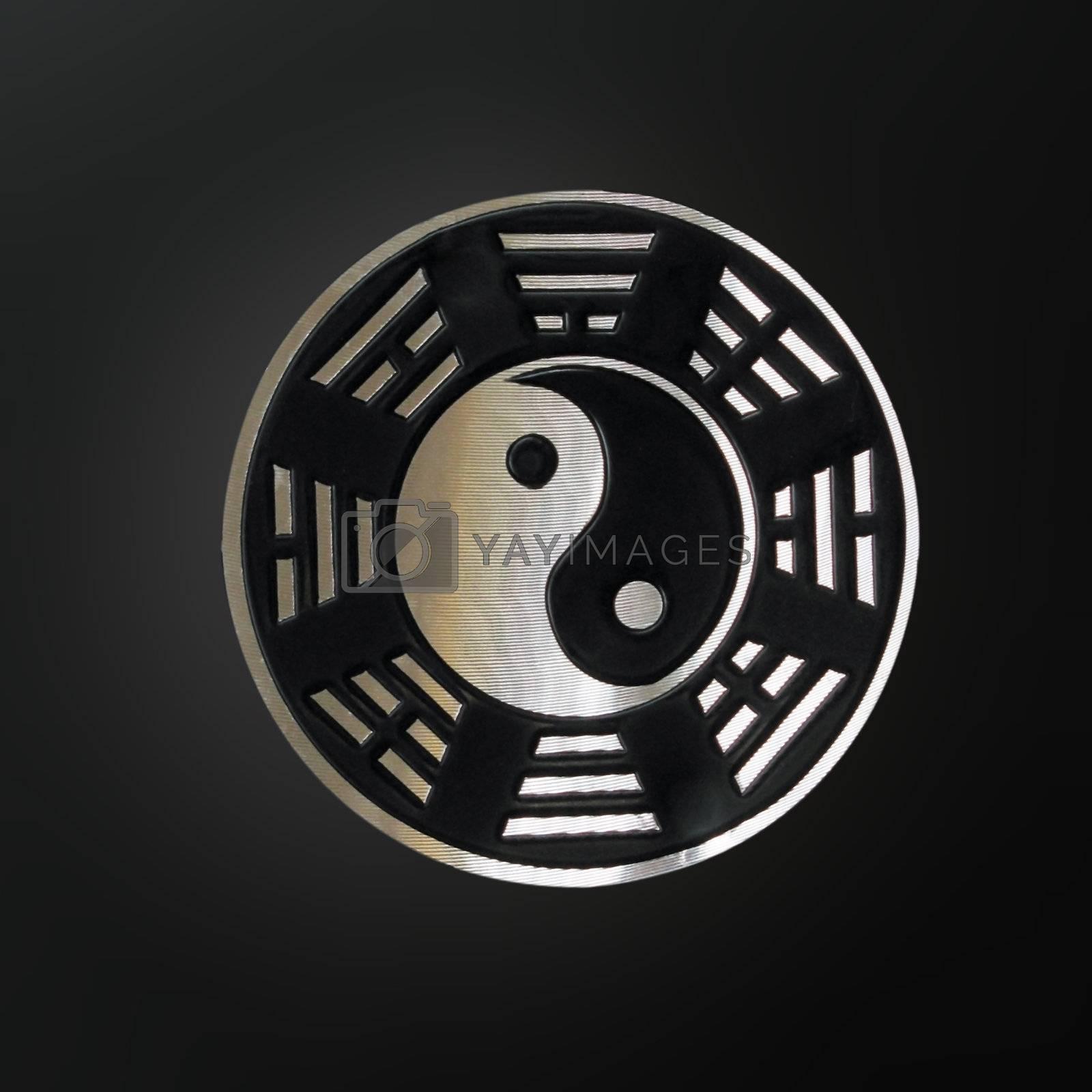 fengshui bagua over black