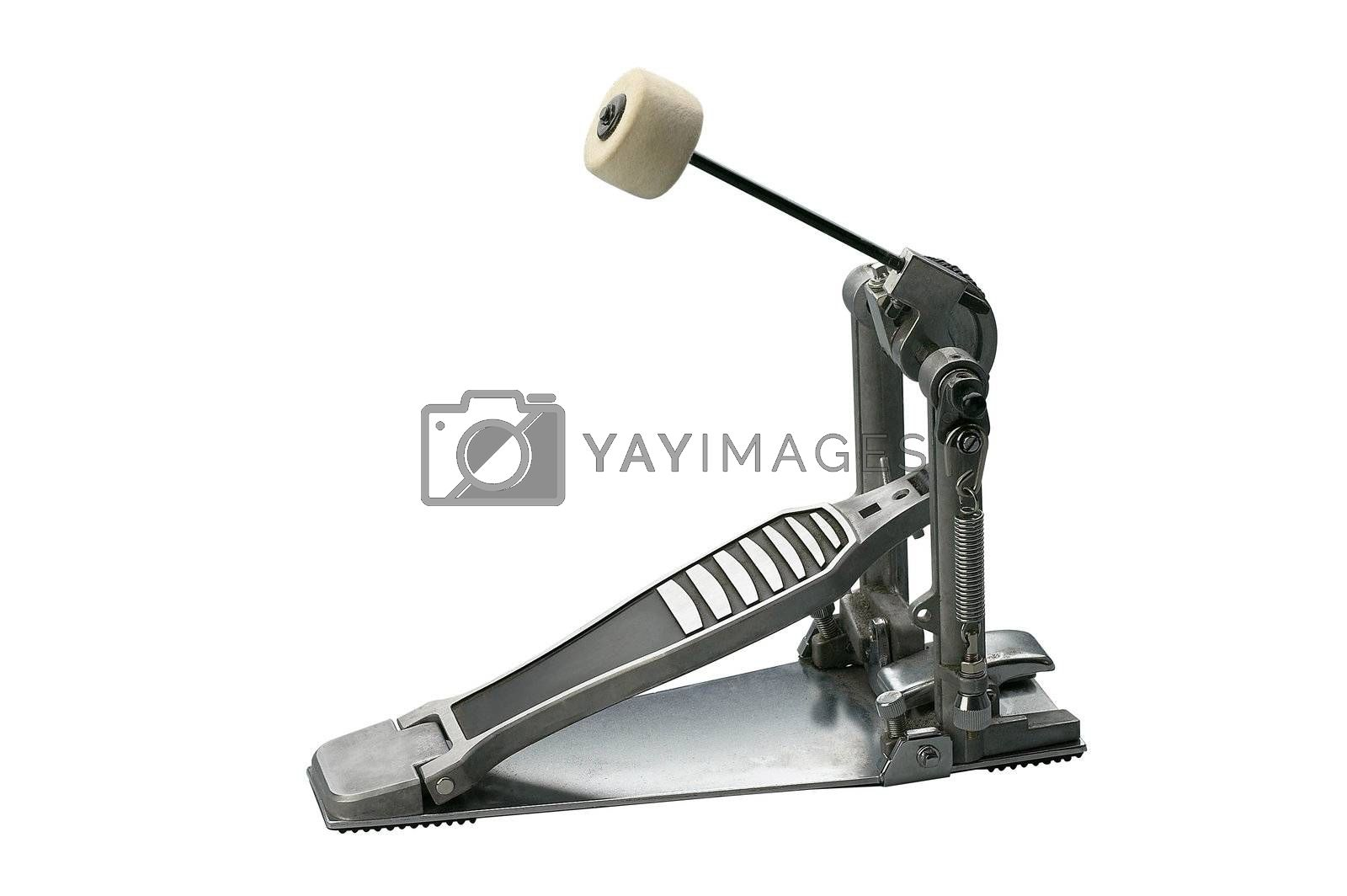 clipping path of the drum pedal