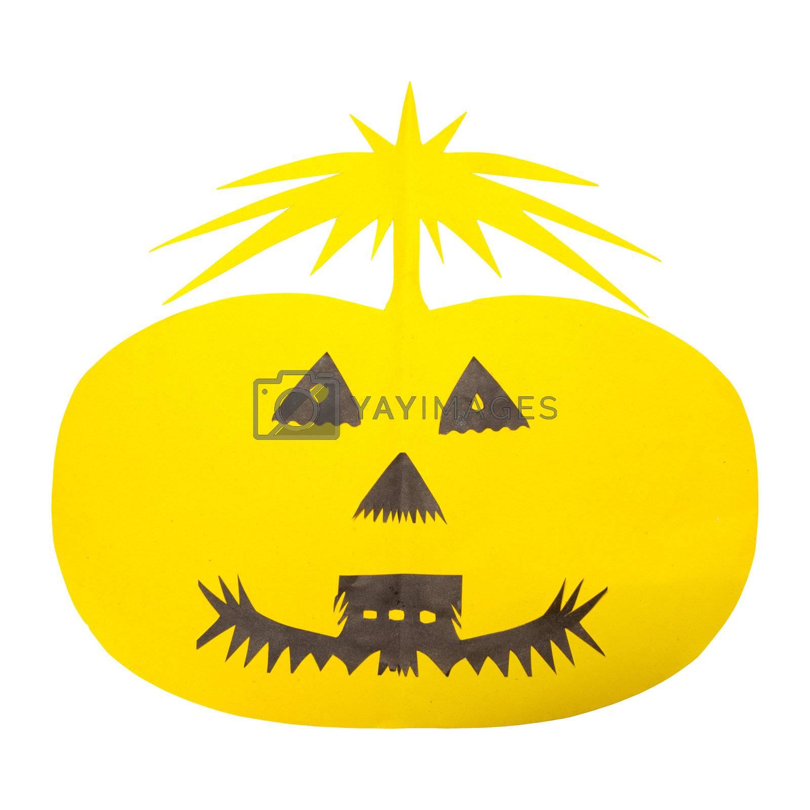 Halloween Pumpkin by witthaya