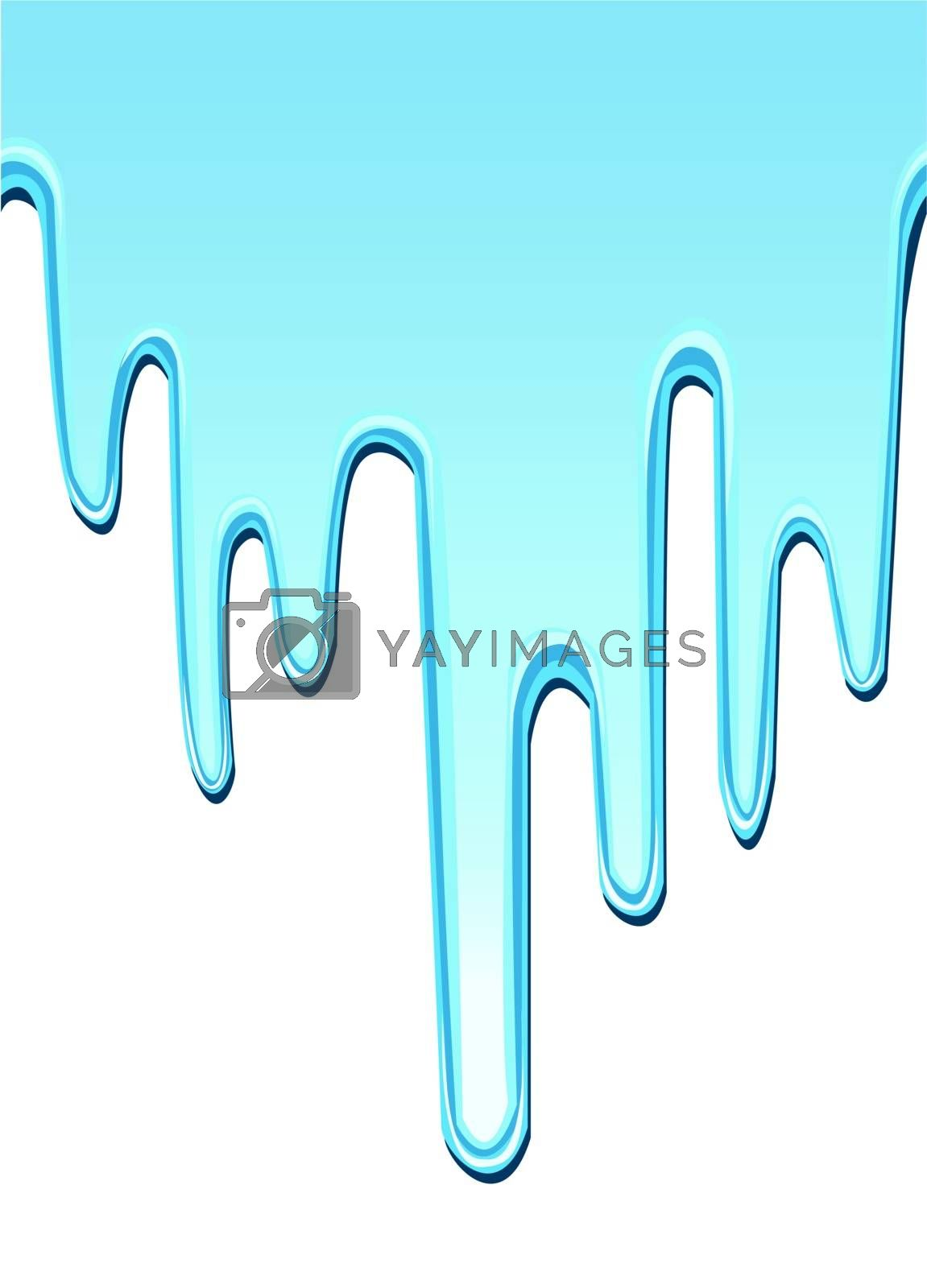 seamless dripping paint backgrounds by mtkang