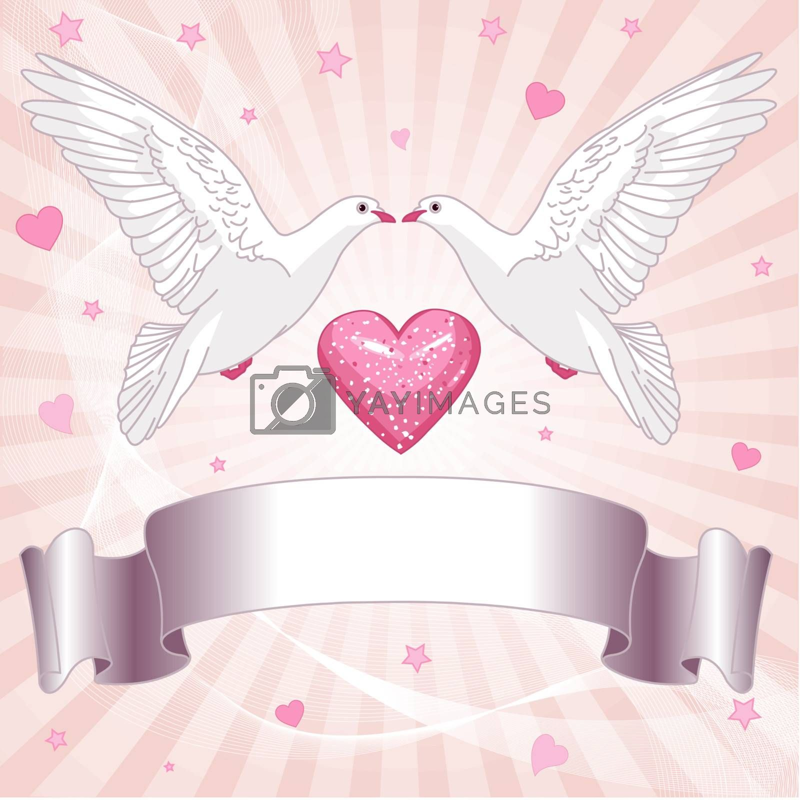 Wedding background  for invitations and announcements