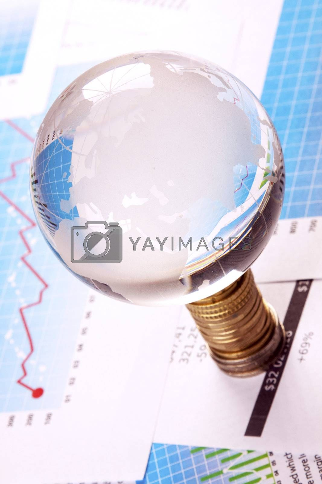 Financial and business concept