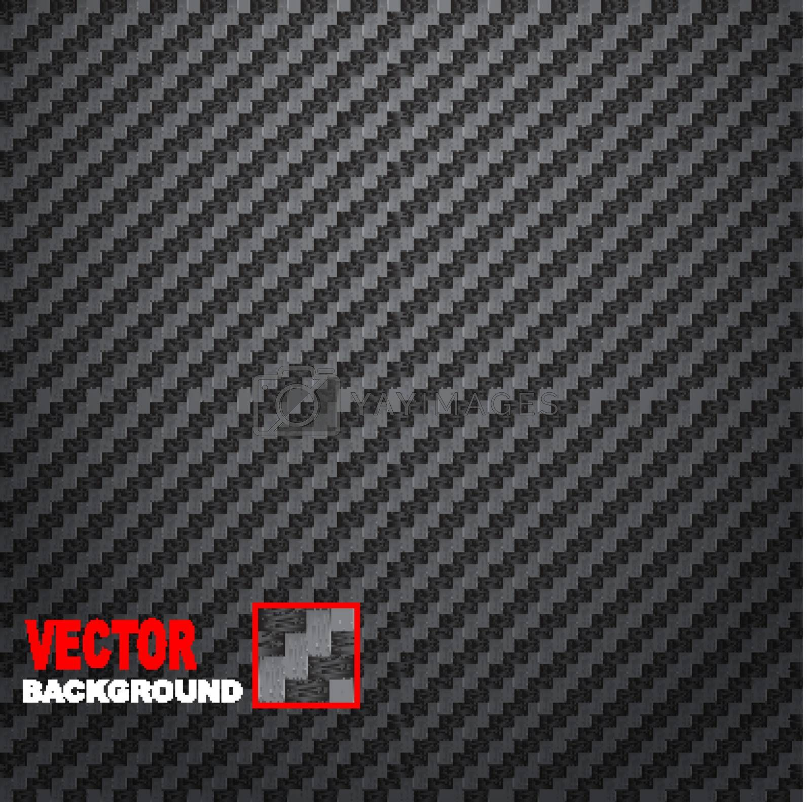 Carbon Fiber Background by smoki