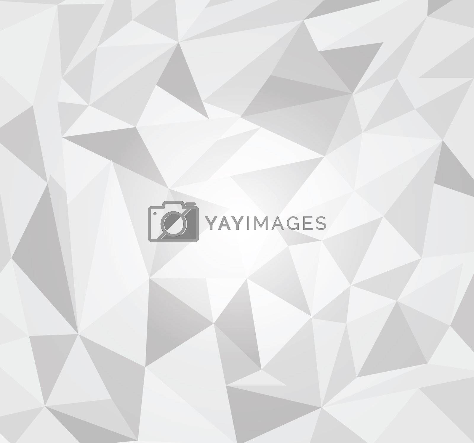 abstract 3d origami paper. Vector