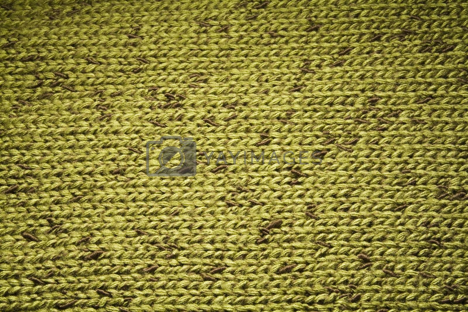 Textile Background - macro of a woolen texture