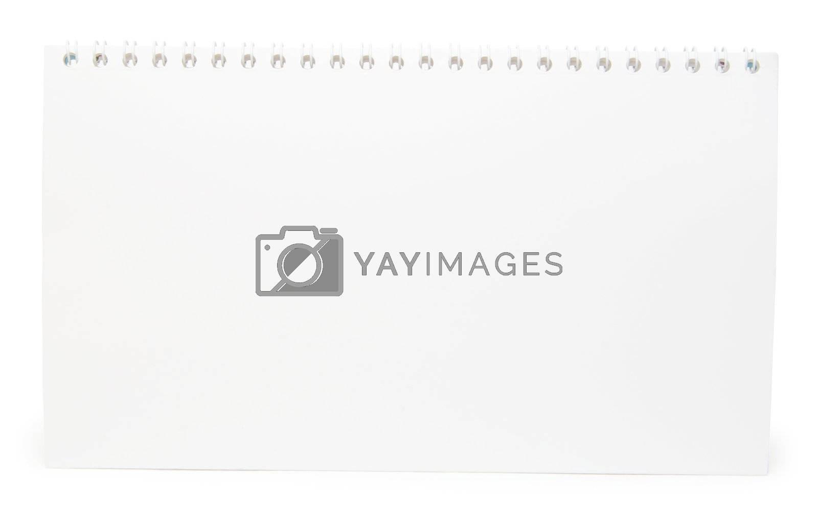 blank calendar  by Pakhnyushchyy