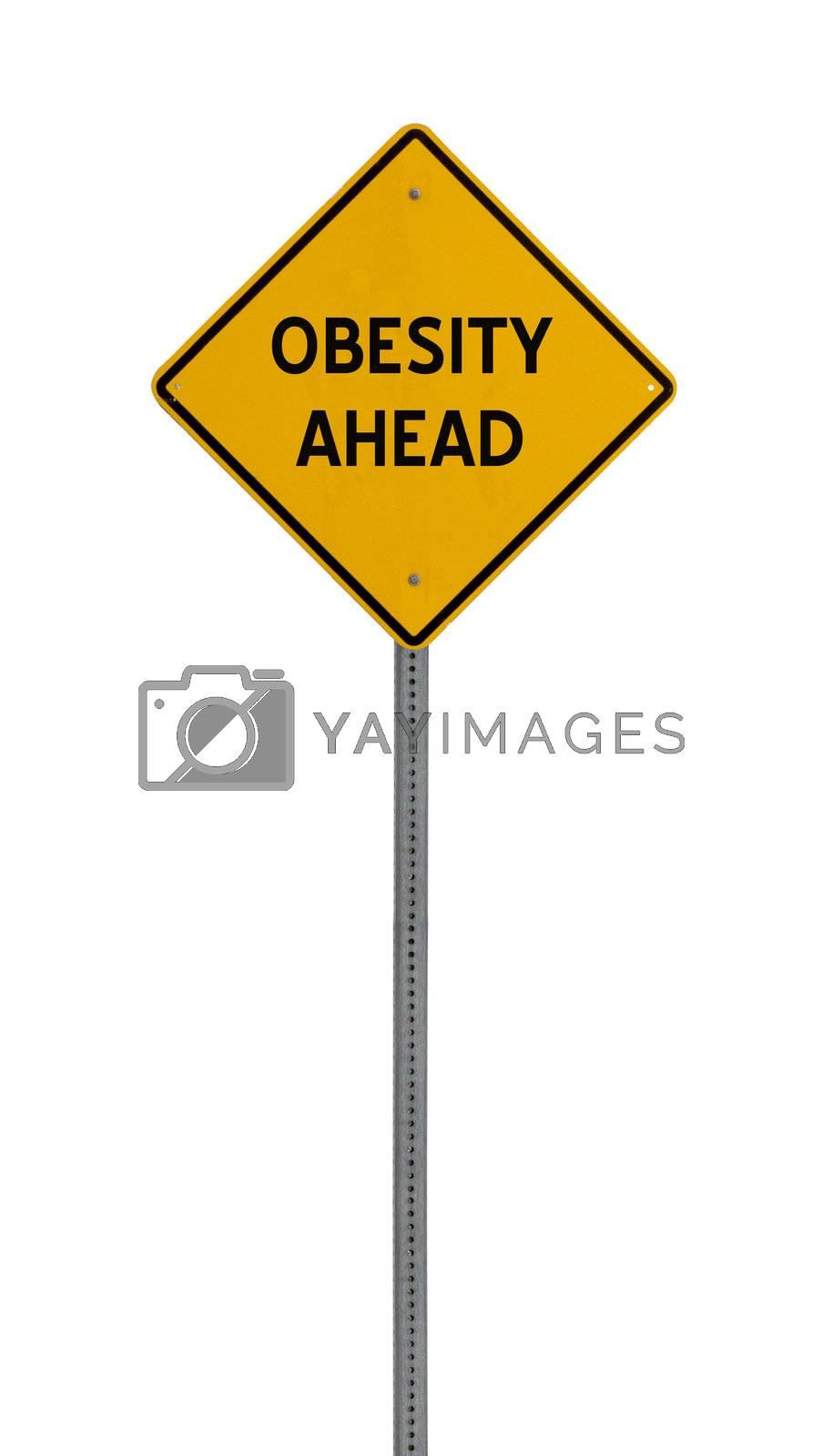 yellow road hazard sign
