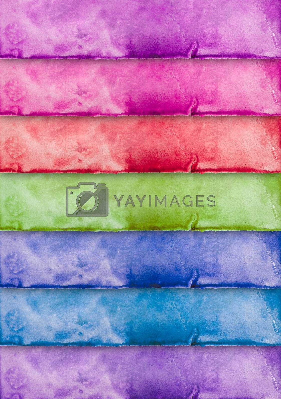 colorful vintage paper for background