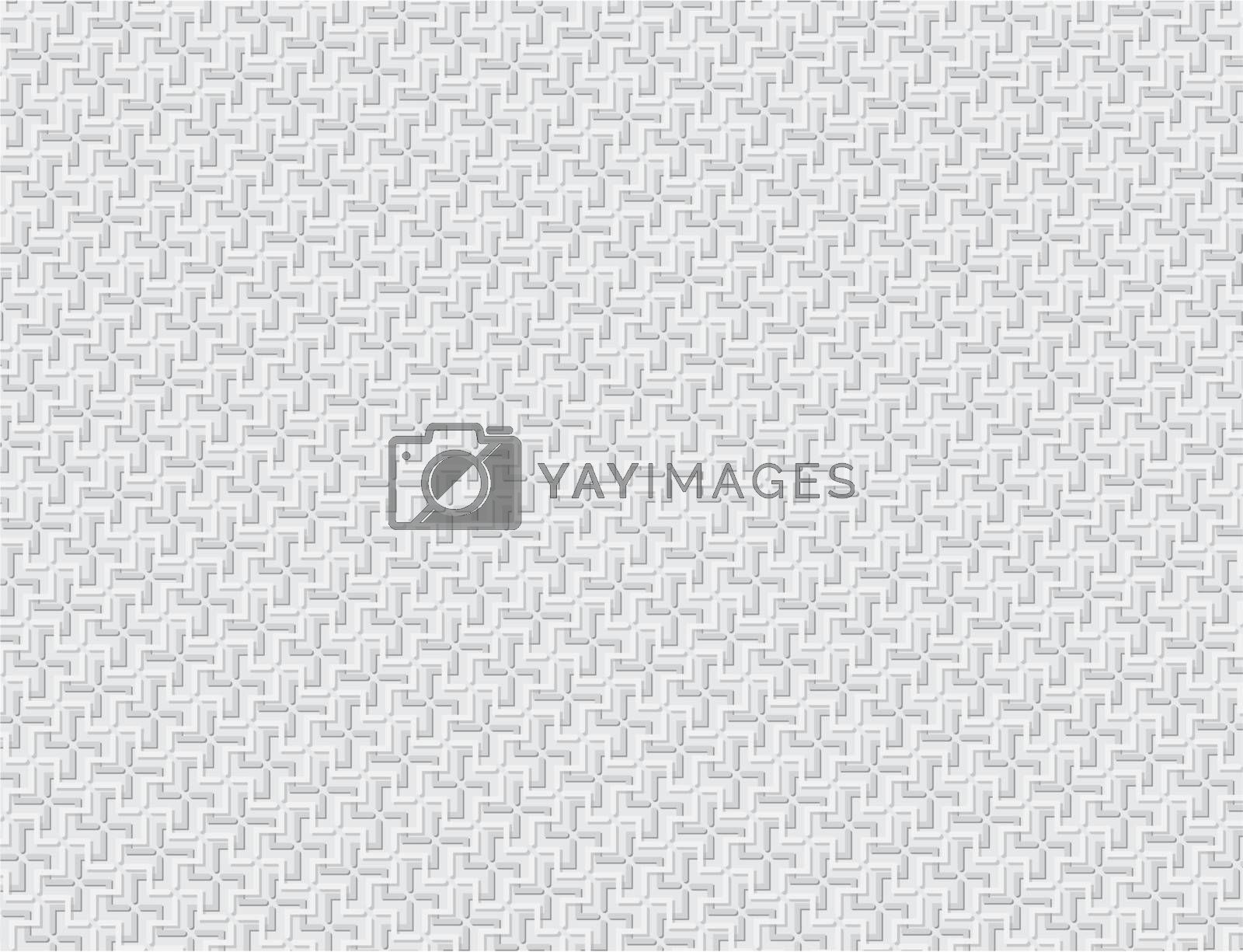 Monochrome abstract vector background - gray crosses