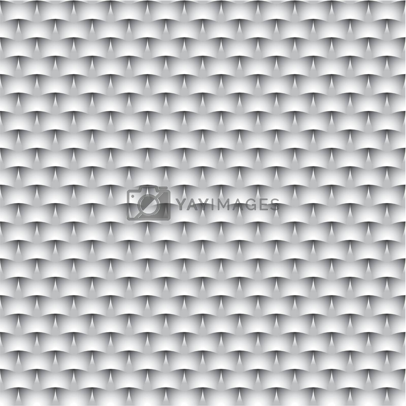 Abstract vector seamless Monochrome background - eps8