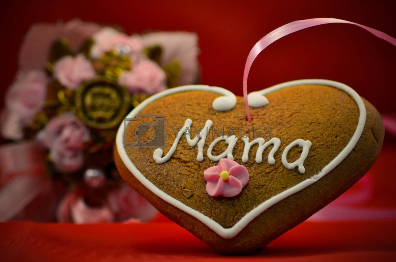 Mothers day gingerbread by Mbatelier