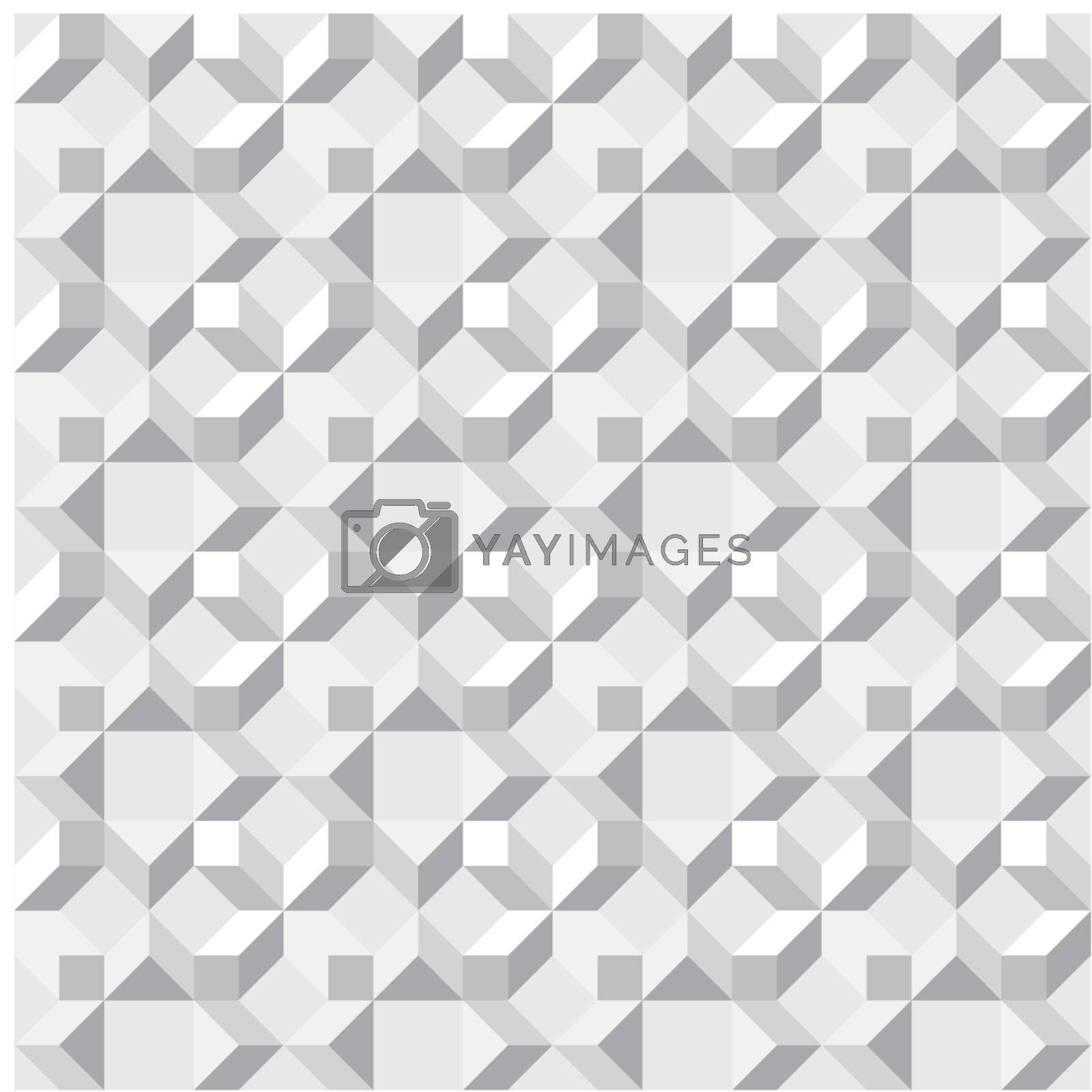 Seamless texture - simple vector monochrome abstract pattern
