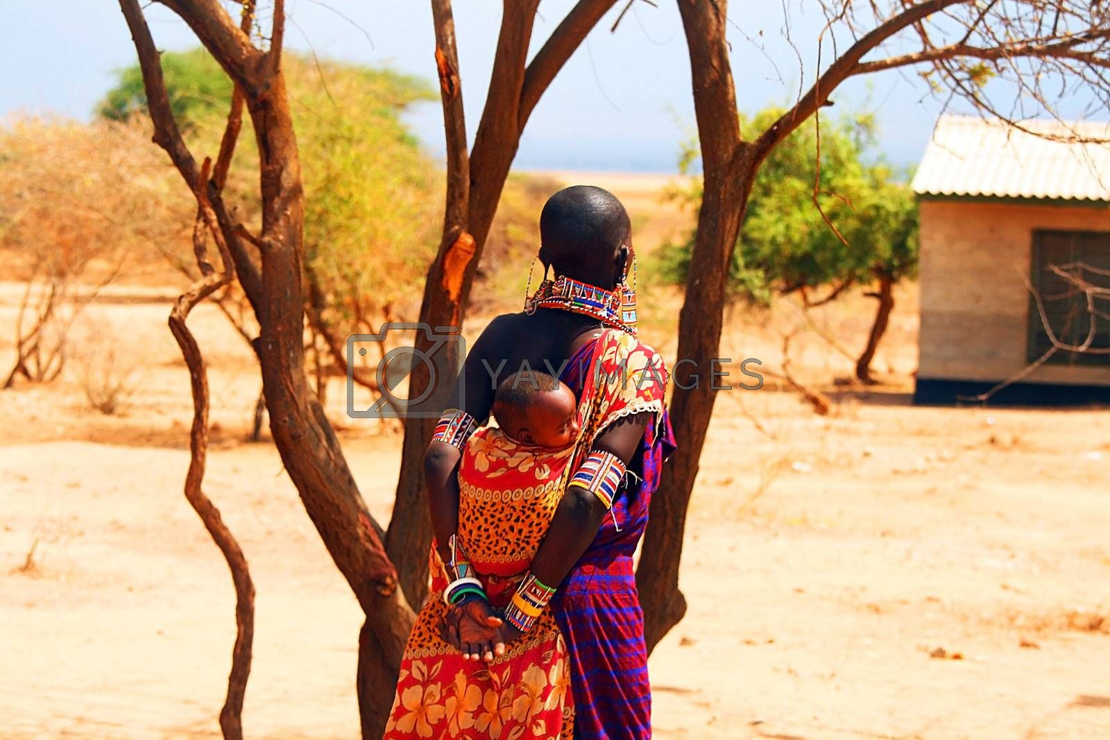 African family by Anna_Omelchenko