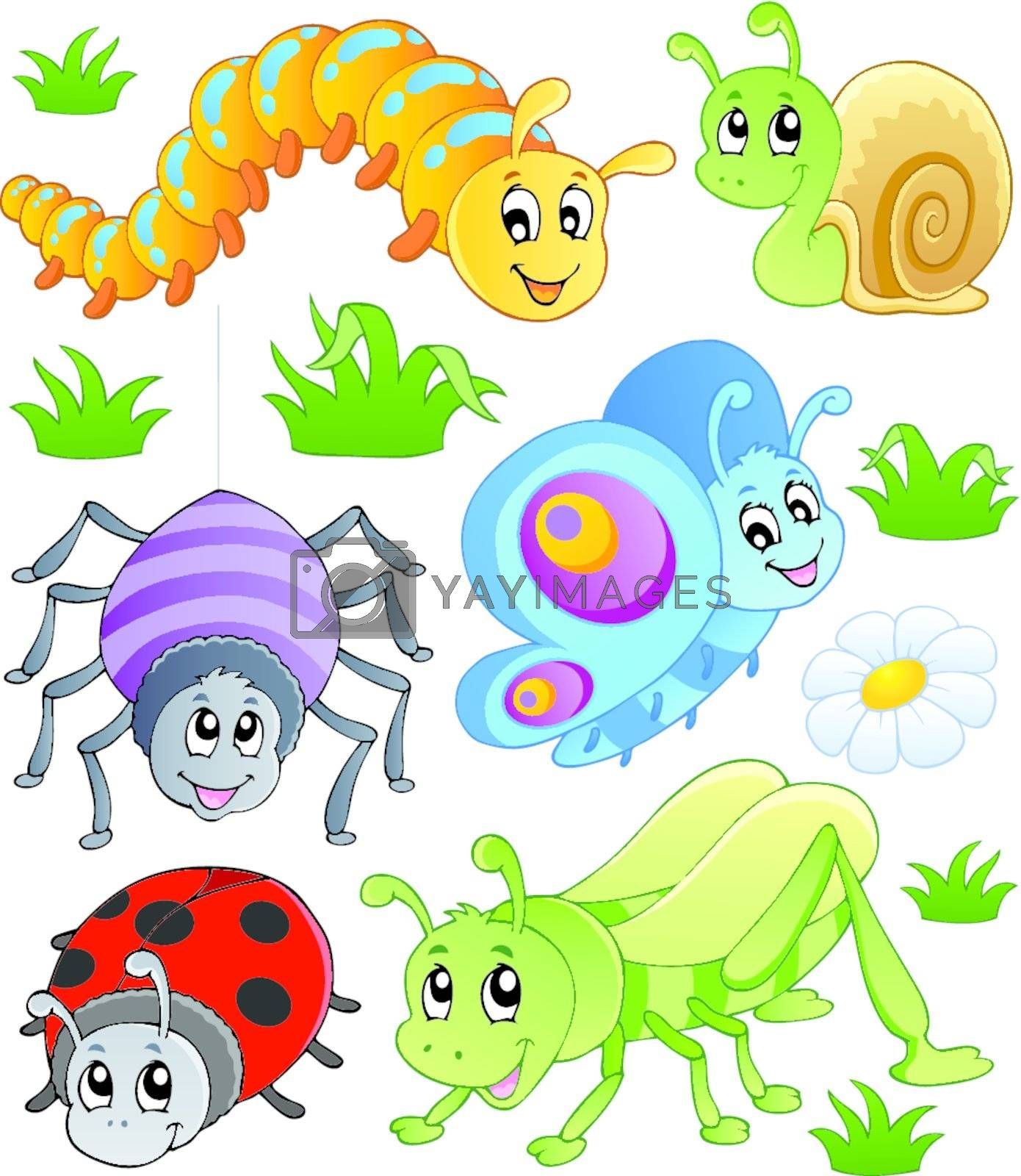 Cute bugs collection 1 by clairev